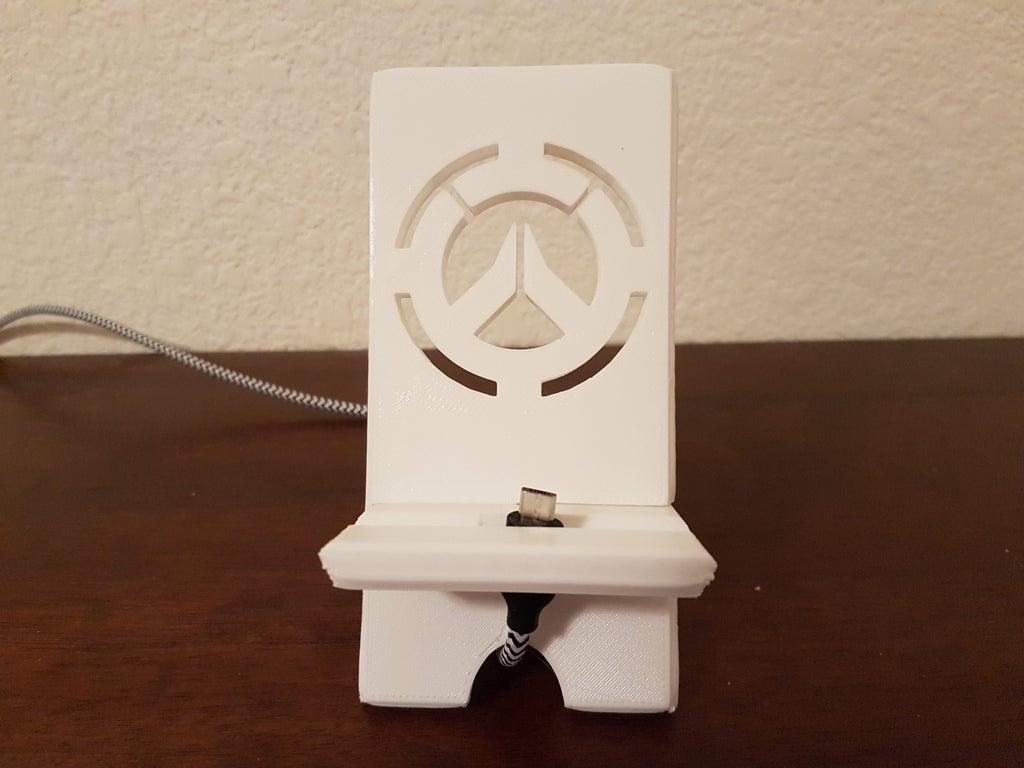 Overwatch Telefon Tablet Standı Masaüstü Tutucu Masa Üstü