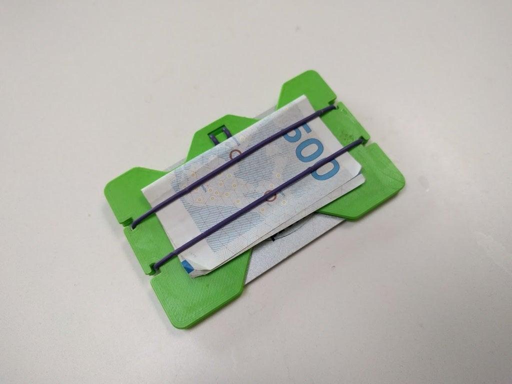Not klipsli minimalist cüzdan Hediyelik Süs Eşyası Aksesuar