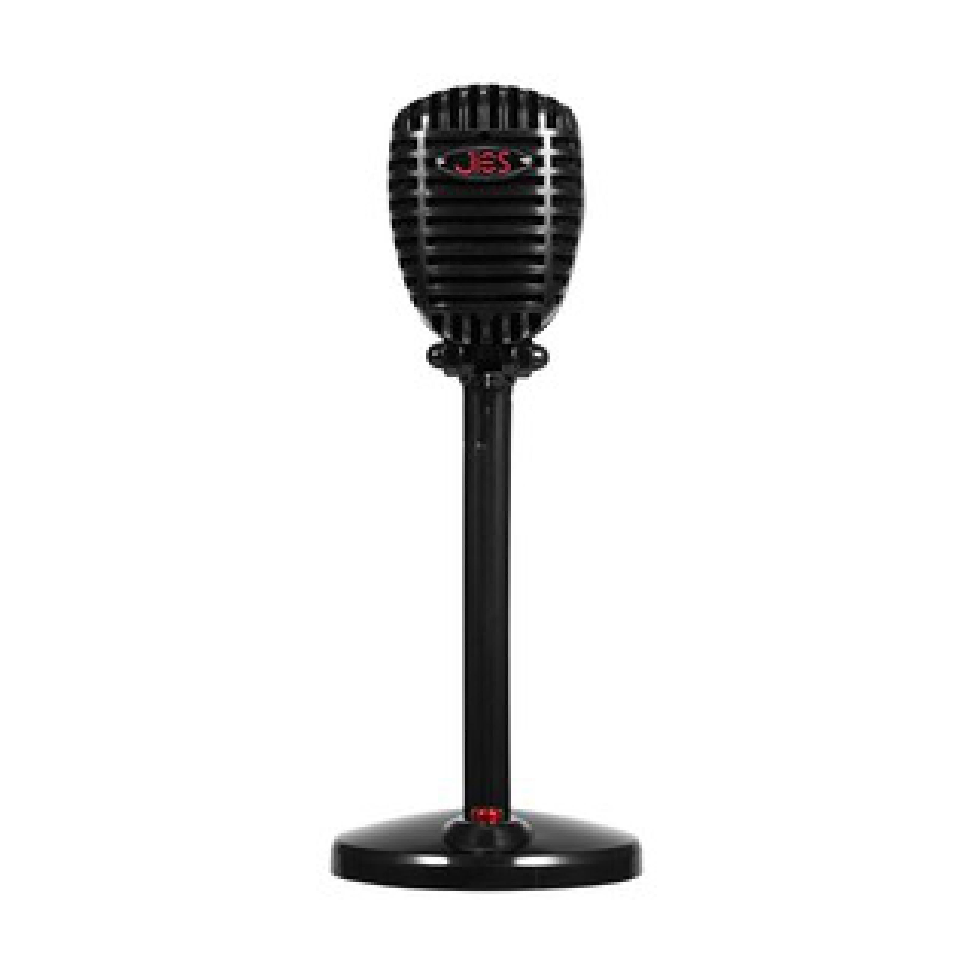 Jies F13 Masaüstü Mikrofon Kablolu ON/OFF 3.5MM Tuşlu Oynar Başlı