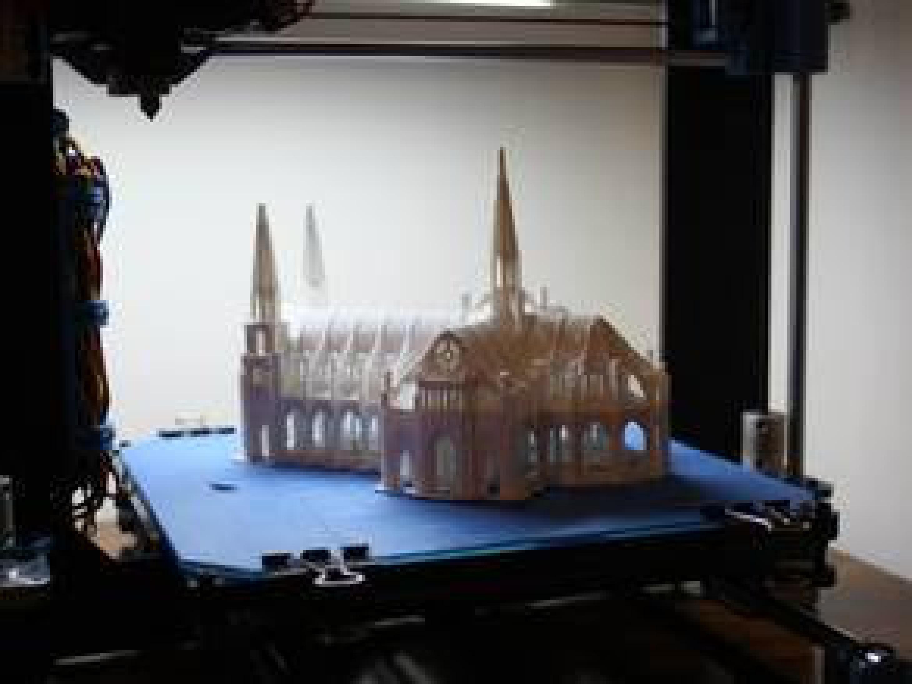 Hediyelik Eşya Gotik Katedral Dekoratif Biblo Dekor Aksesuar