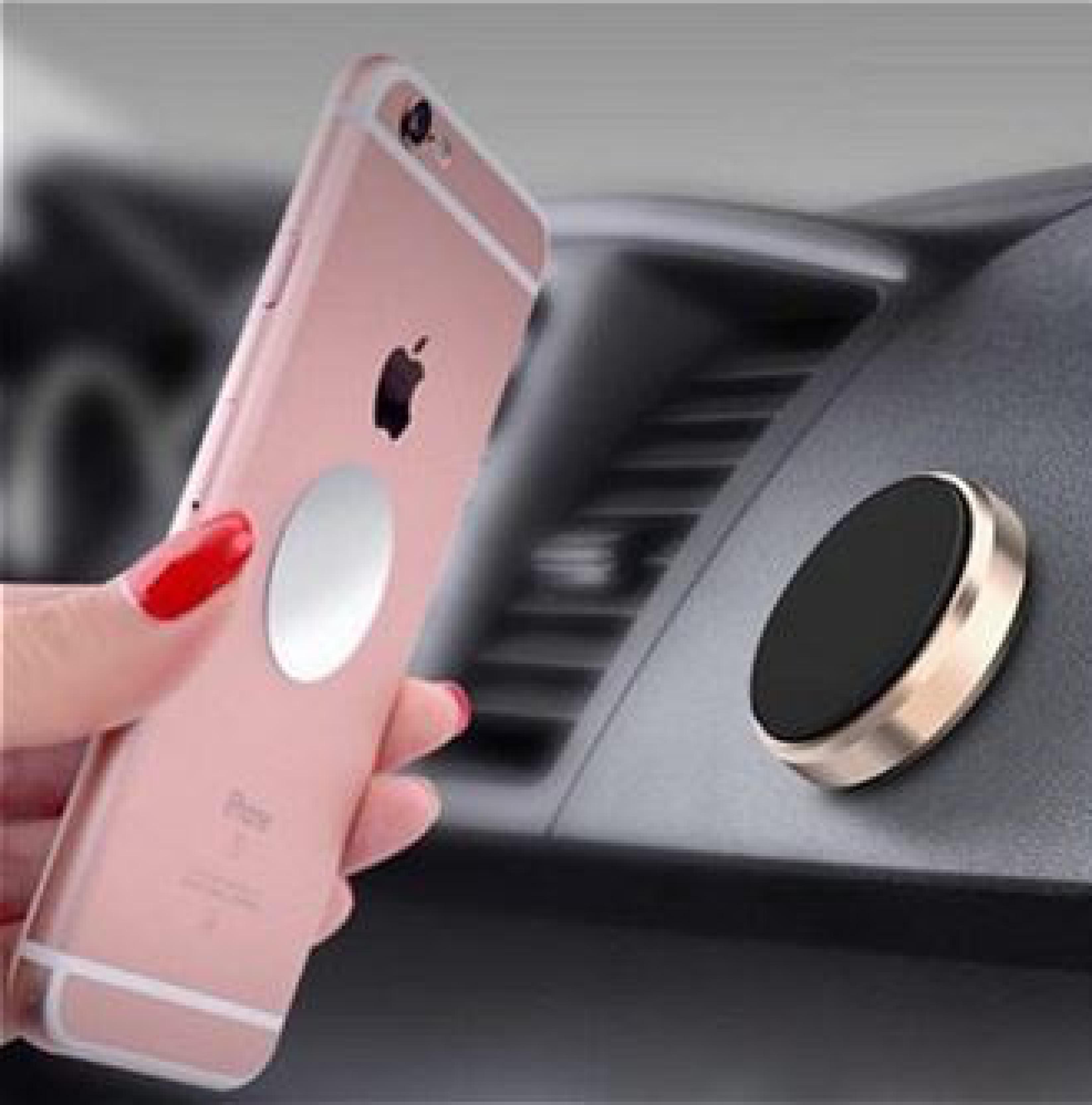 Mıknatıslı Telefon Tutucu Araç İçi Kolay Kullanım Aparatlı