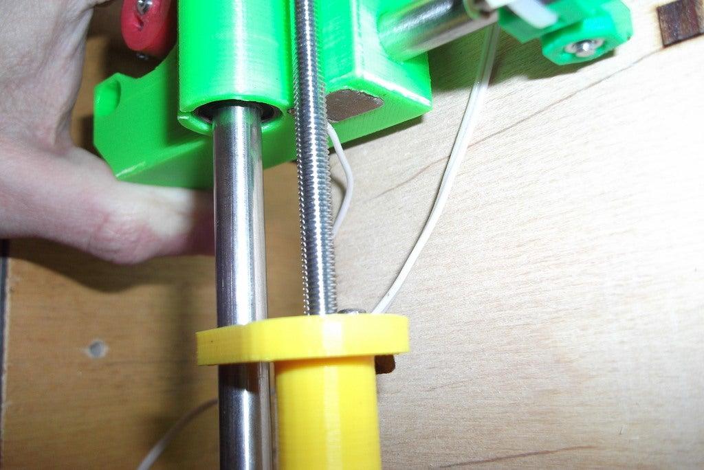 Otomatik dokunma Z uç durdurma  Organik Plastikten Aksesuar