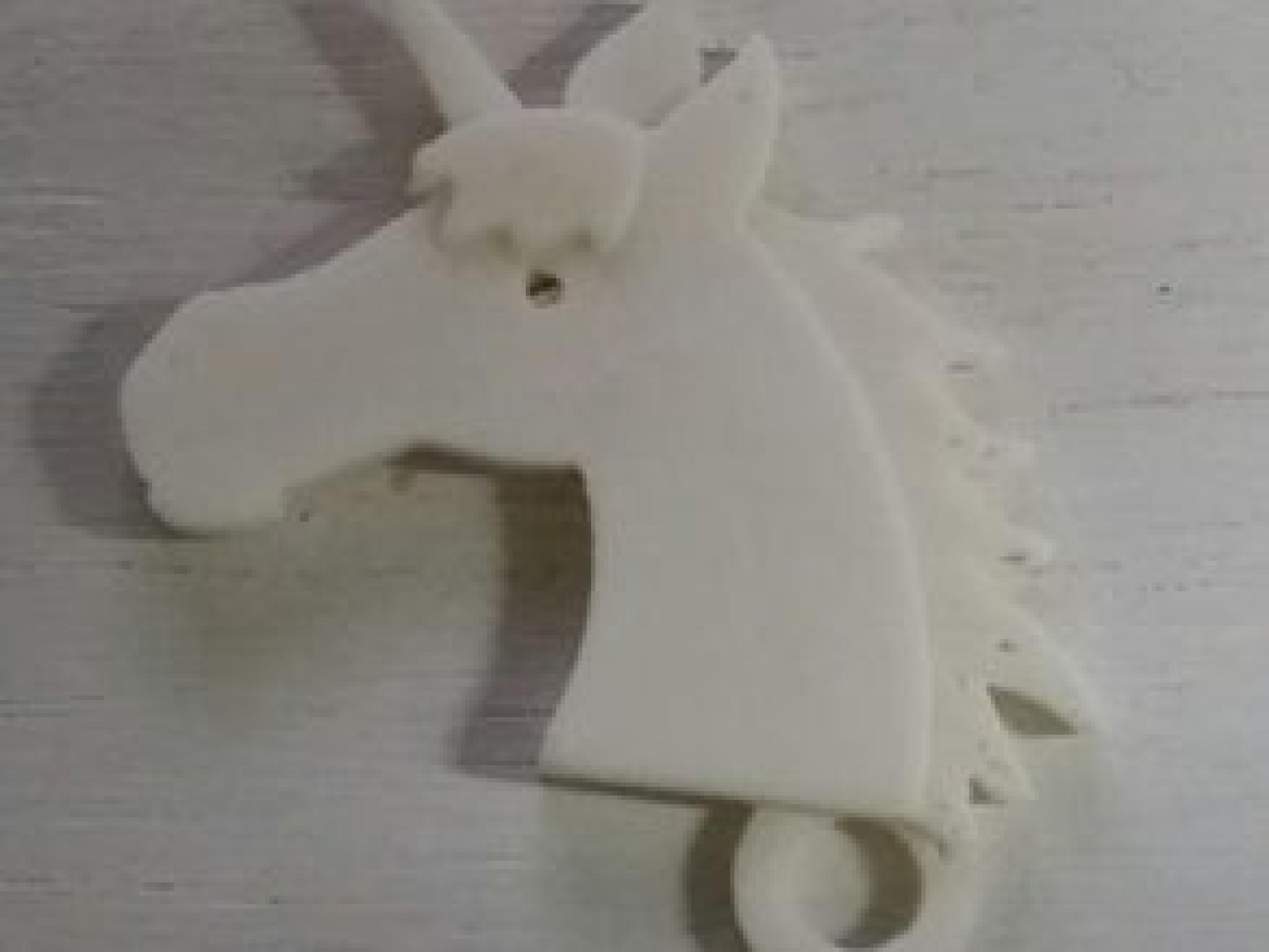 Unicorn anahtarlık