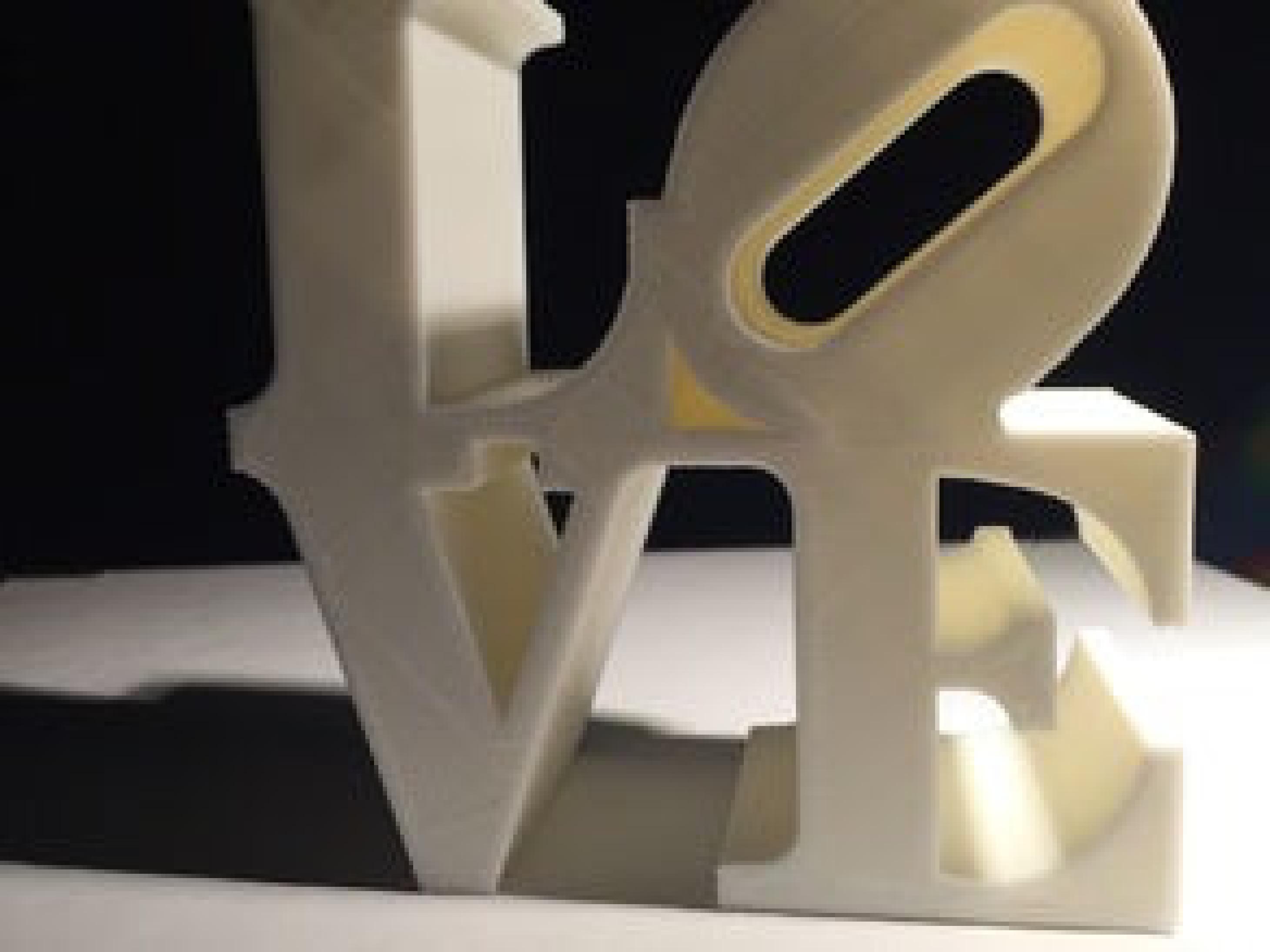 Love Yazılı Masaüstü Dekor Süs Dekoratif Biblo Sevigiliye Hediye