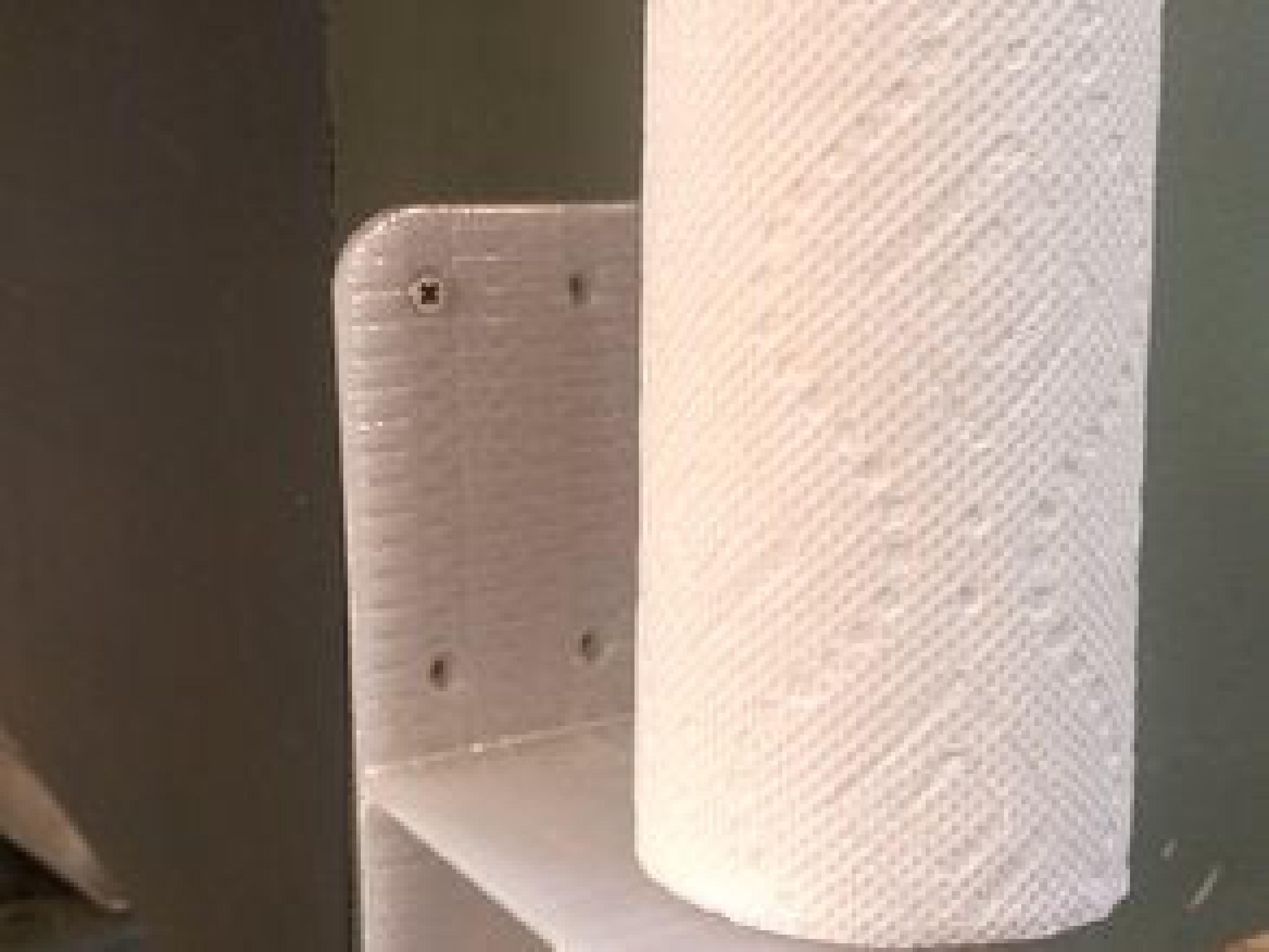Kağıt Havluluk Duvara Asma Aparatı Plastik Kağıt Havlu Tutacağı