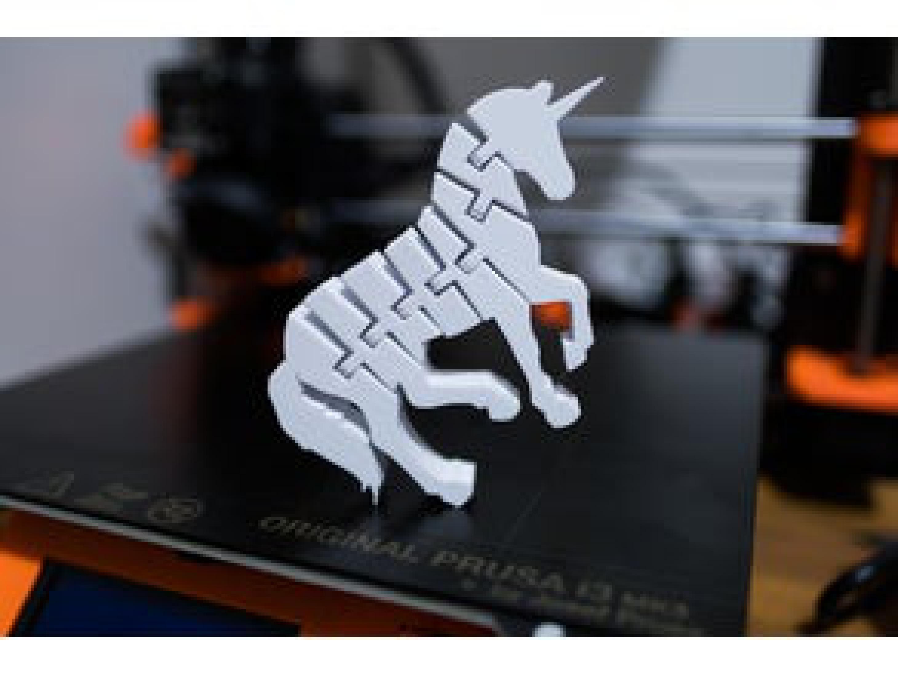 Unicorn At Hareket Edebilir Dekoratif Biblo Dekor