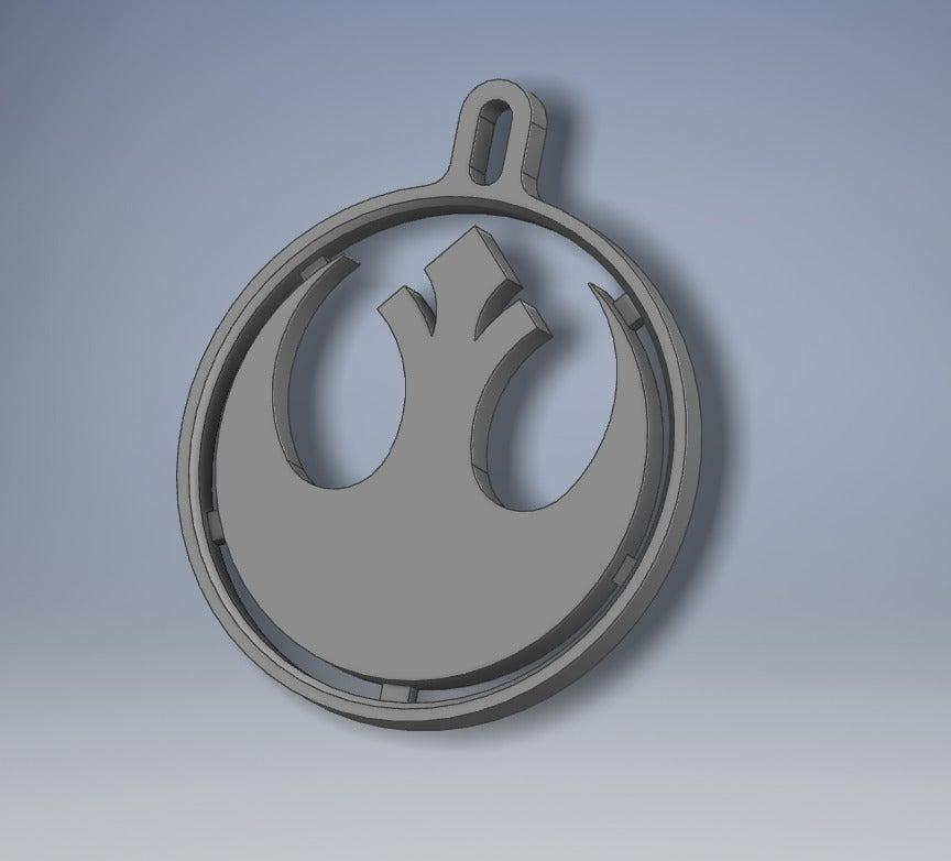 Star wars Rebel Shield Anahtarlık