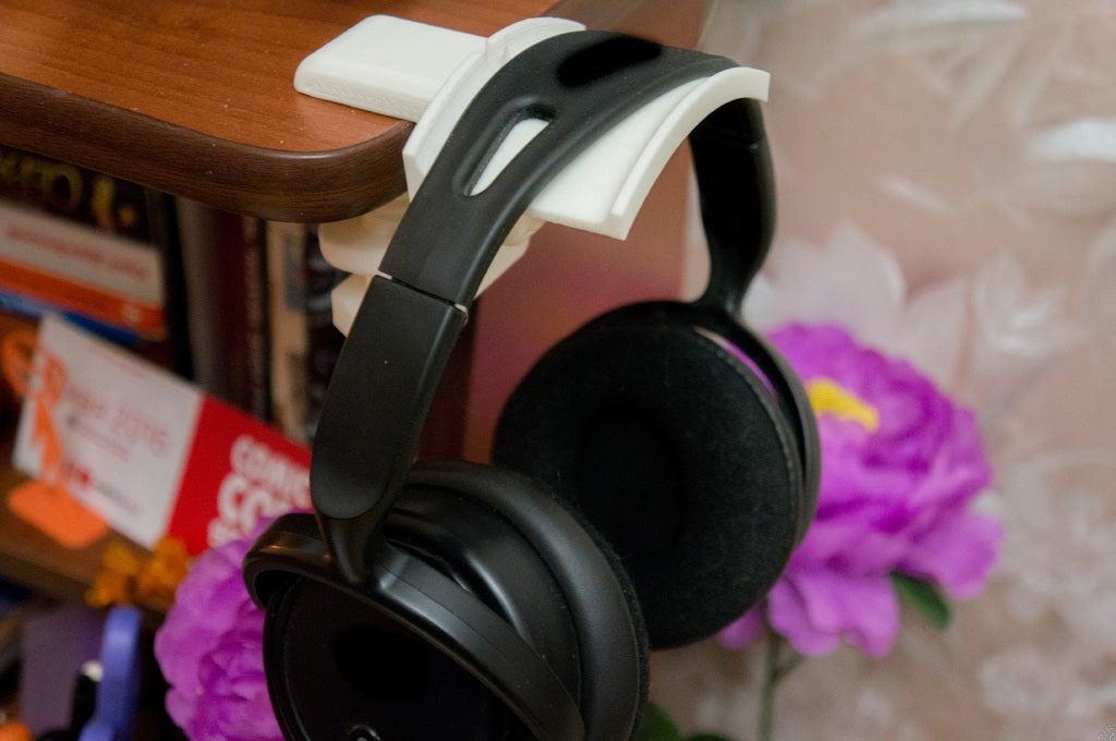 Masaüstü Kulaklık Headphone Tutucu