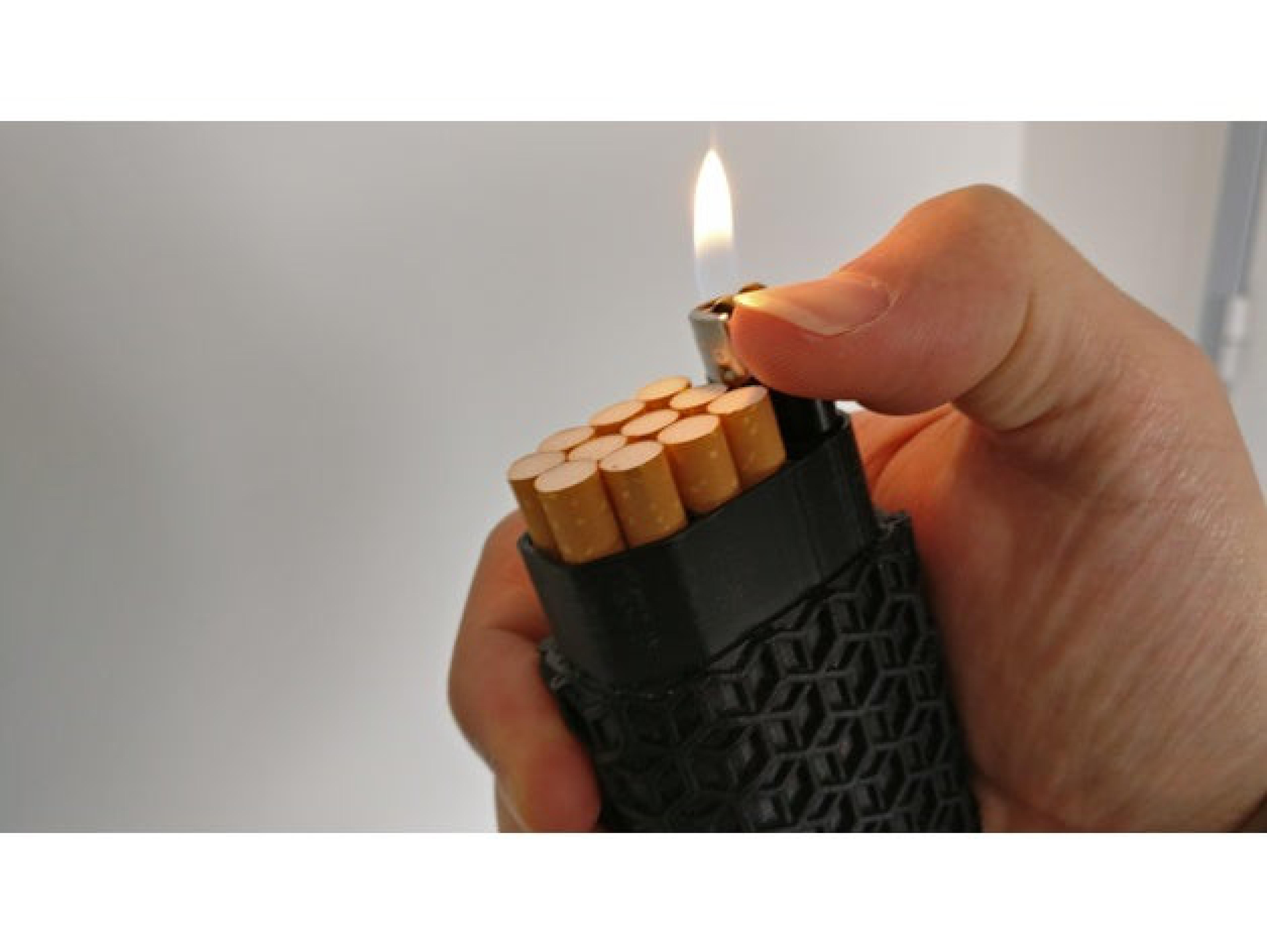 Sigara Çakmak Taşıma Kutusu Çakmaklık
