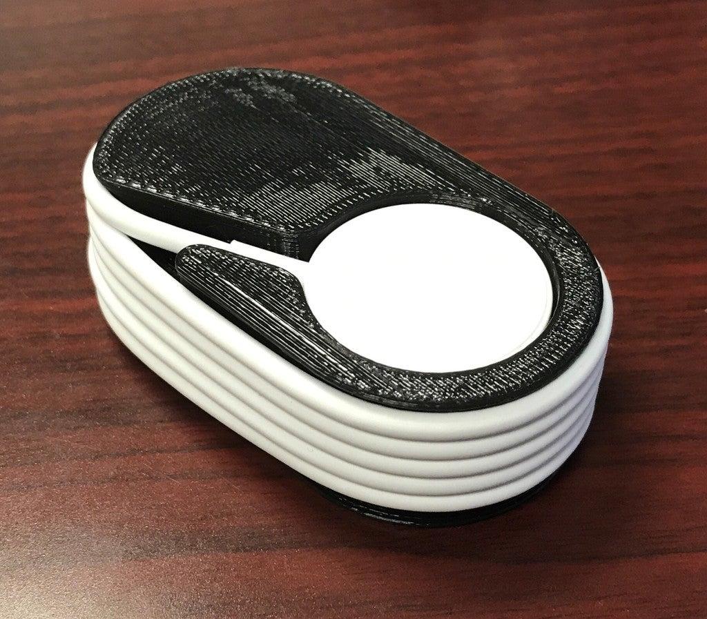Apple Watch şarj kablosu tutucusu saklama kabı kutusu