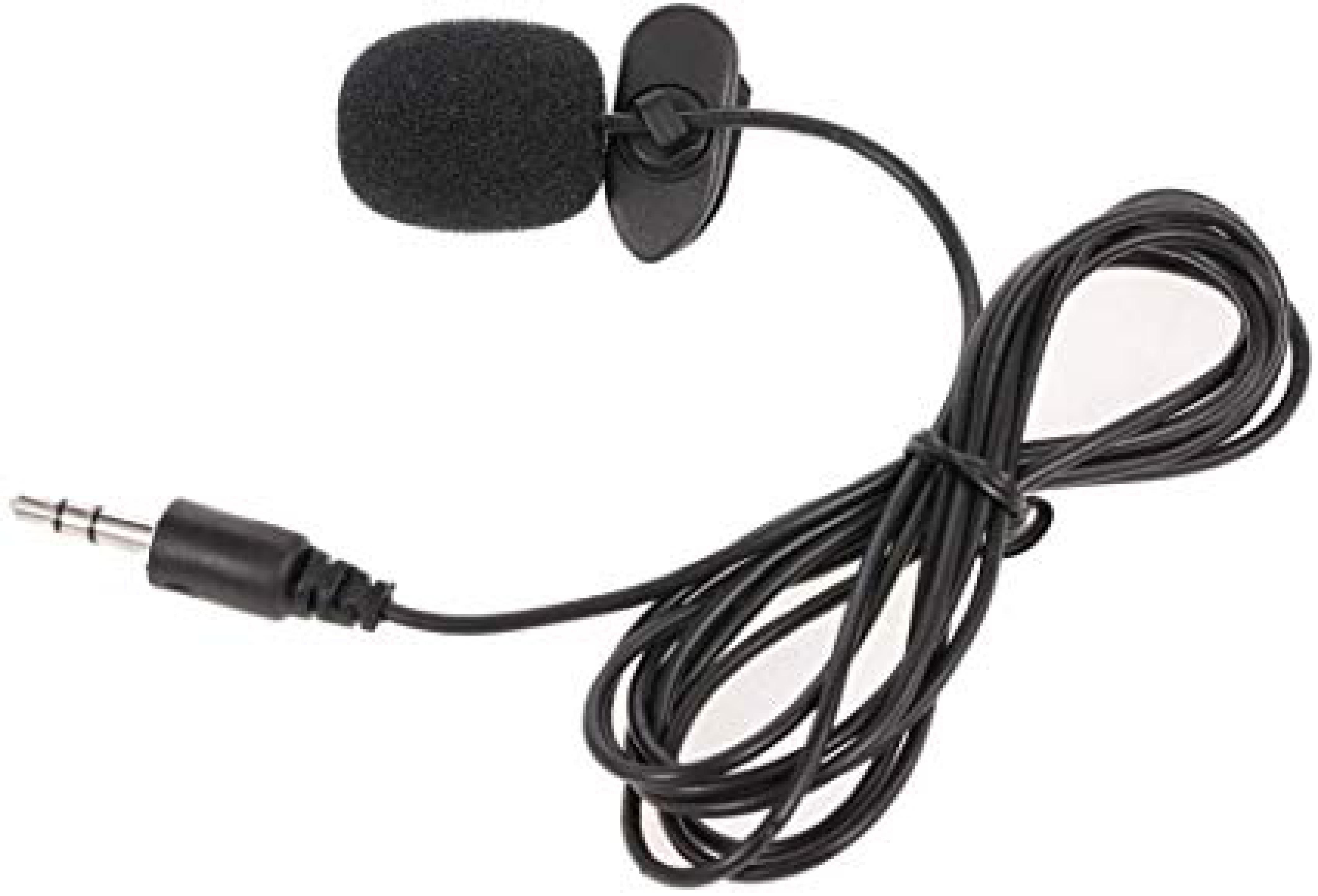 Konferans Kılavuzu için Taşınabilir 3.5mm Klip Mikrofon Stüdyo