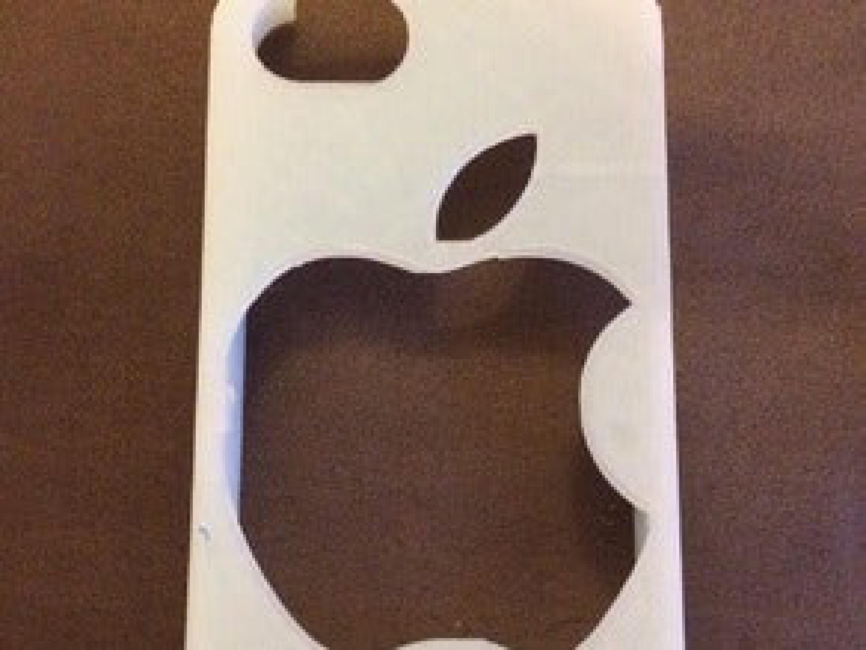 Apple Logosu Iphone 5 kılıfı  kapağı Aparatı Hediyelik Aksesuar