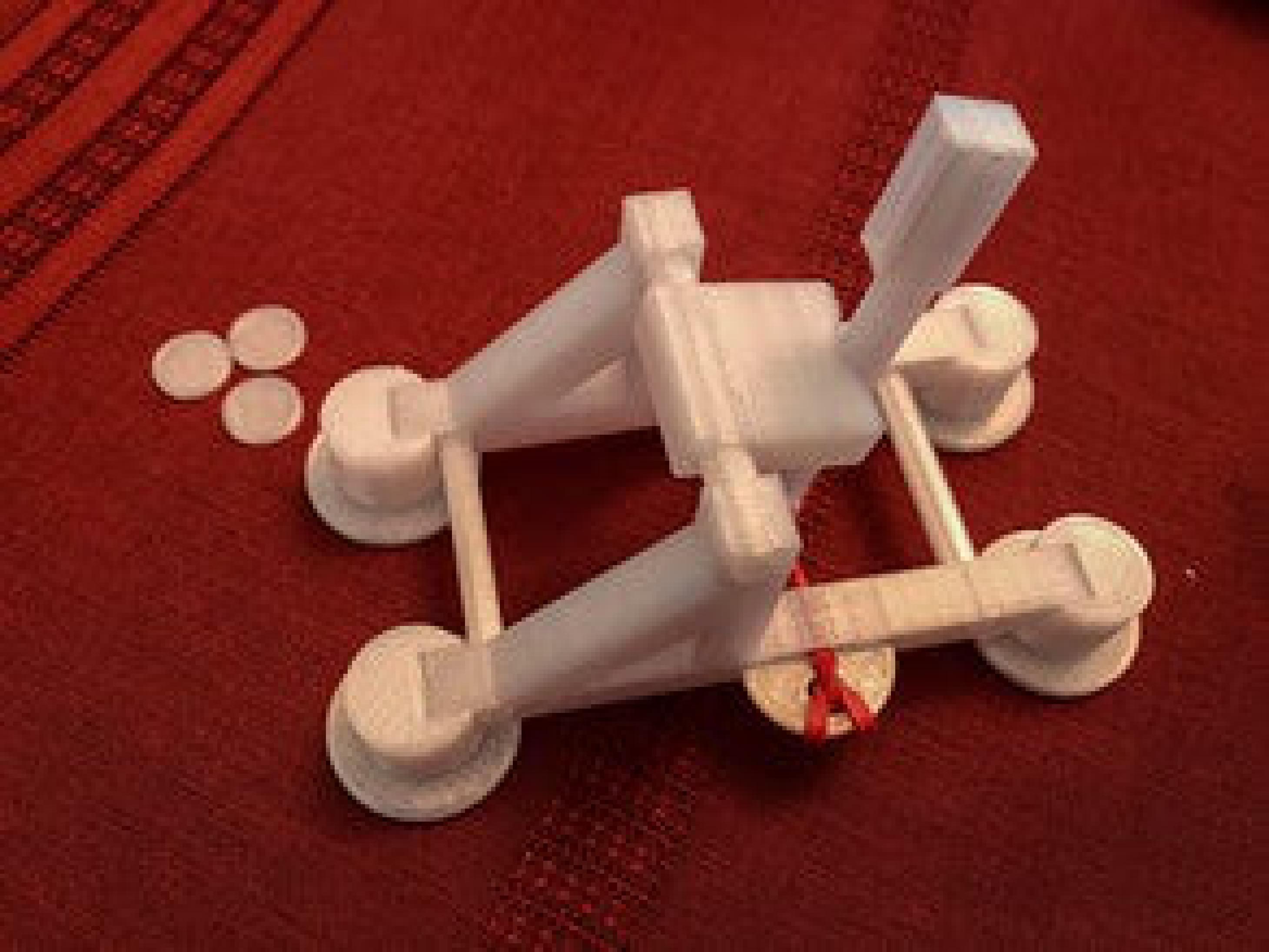 Mancınık Oyuncak Cocuk Oyun Dekoratif Biblo Dekor