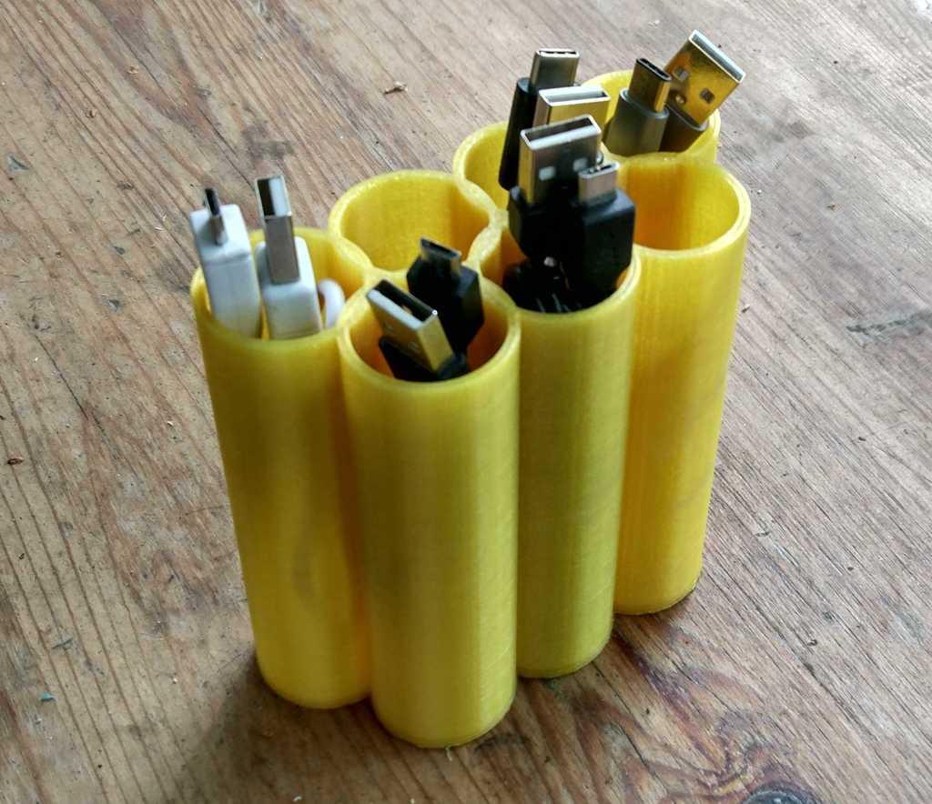 USB Kablo tüpleri Kablo Koruma Düzenleme Organizer Kutusu