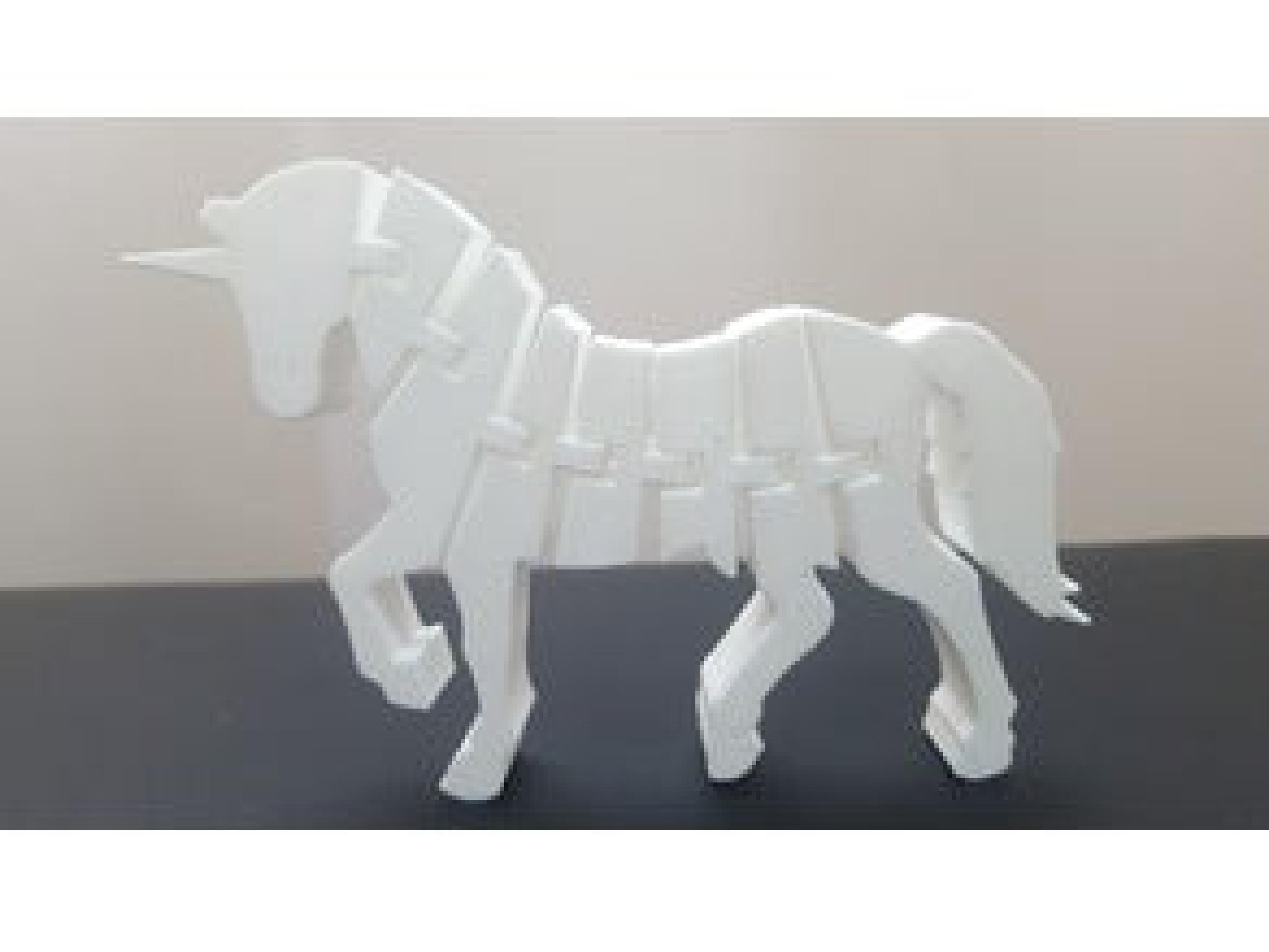 Unicorn At Hareket Edebilir Dekoratif Biblo Dekor  Hediyelik Süs