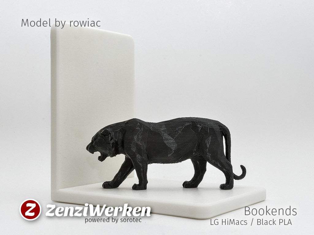 Mike the Tiger Bookends Biblo Dekoratif Süs Eşyası Maket