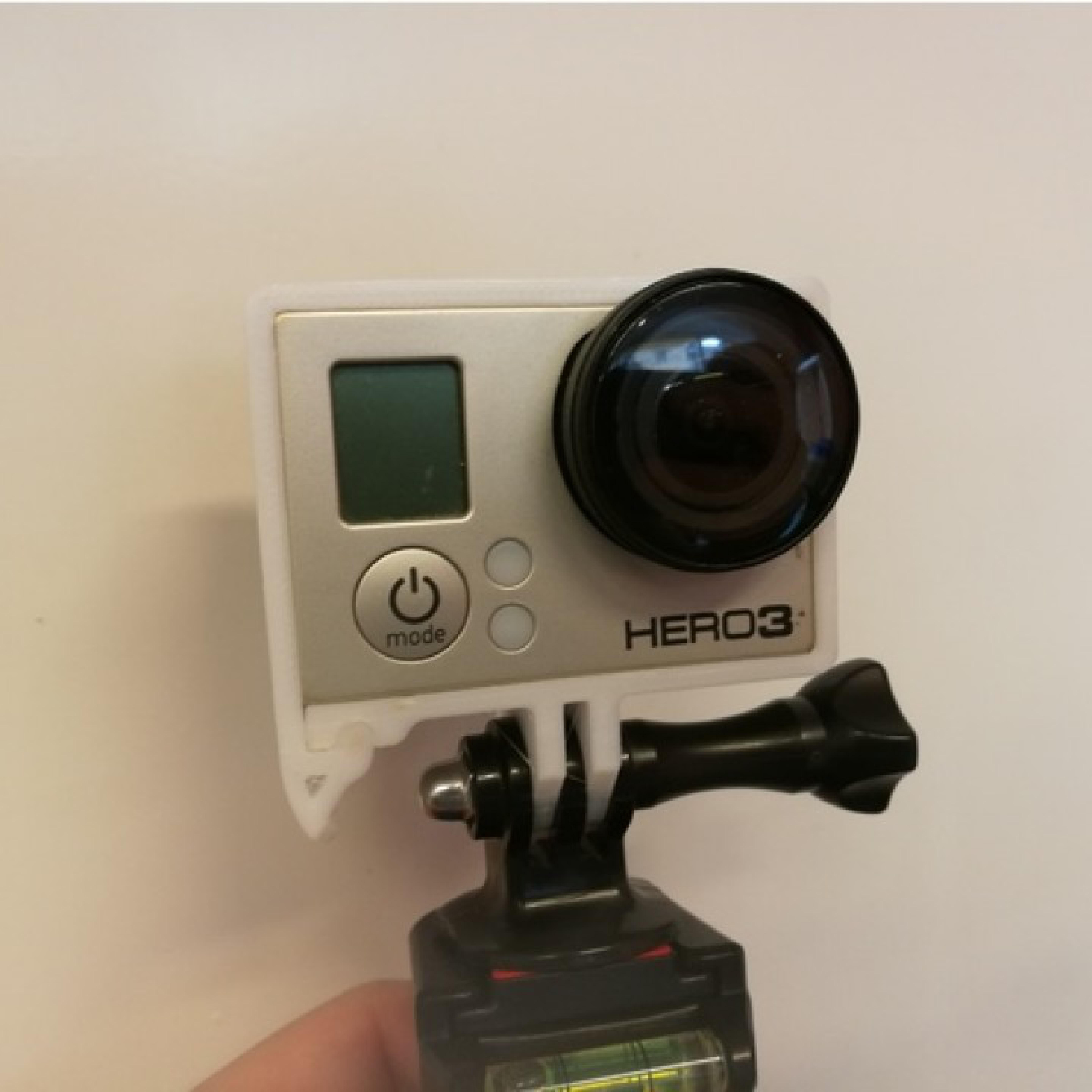GoPro Hero 3 Frame W Hot Shoe Mount go pro aksesuar tutucu gopro