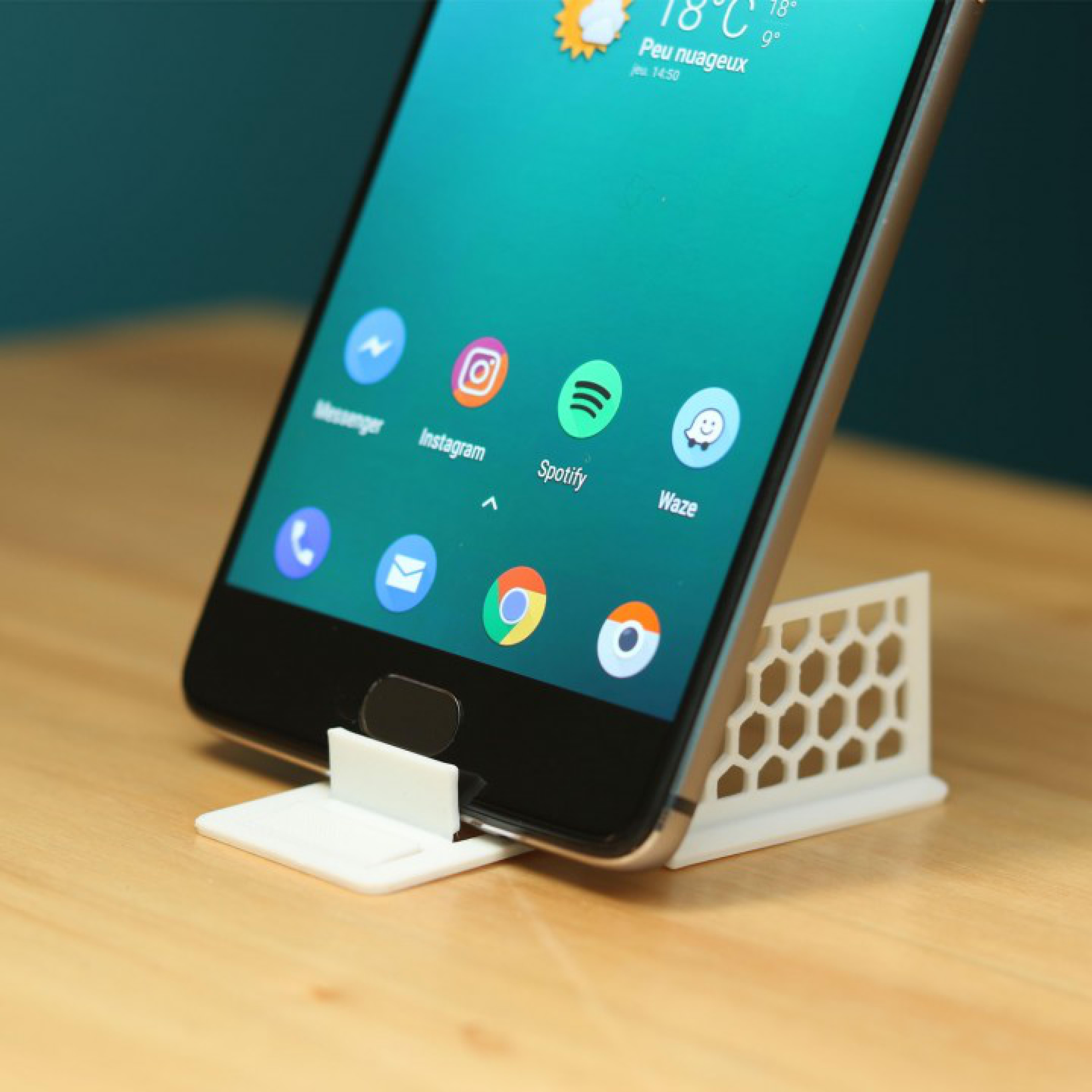 Masaüstü Kartlık Telefon Tablet Tutucu