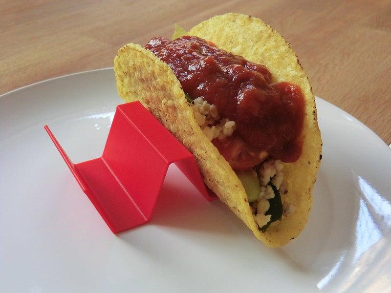 Taco Waffle Tutucu Mutfak Organizer Düzenleyici Aparatı