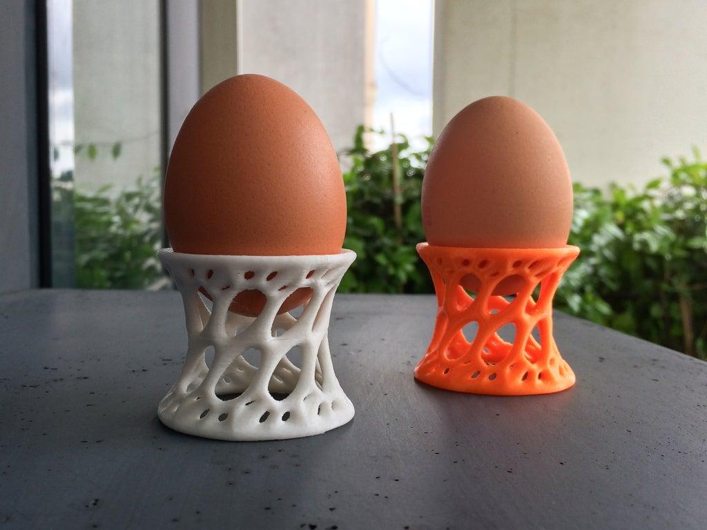 Yumurta tutucu Kahvaltılık Beyaz Renk Organik Plastik1 adet