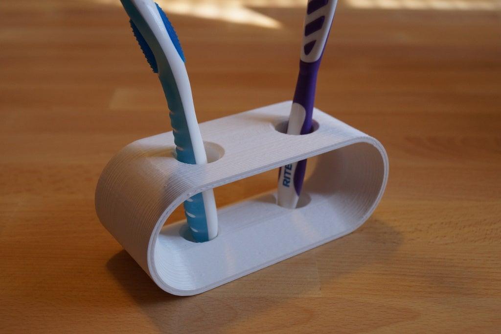 Tasarım Diş Fırçası Tutacağı