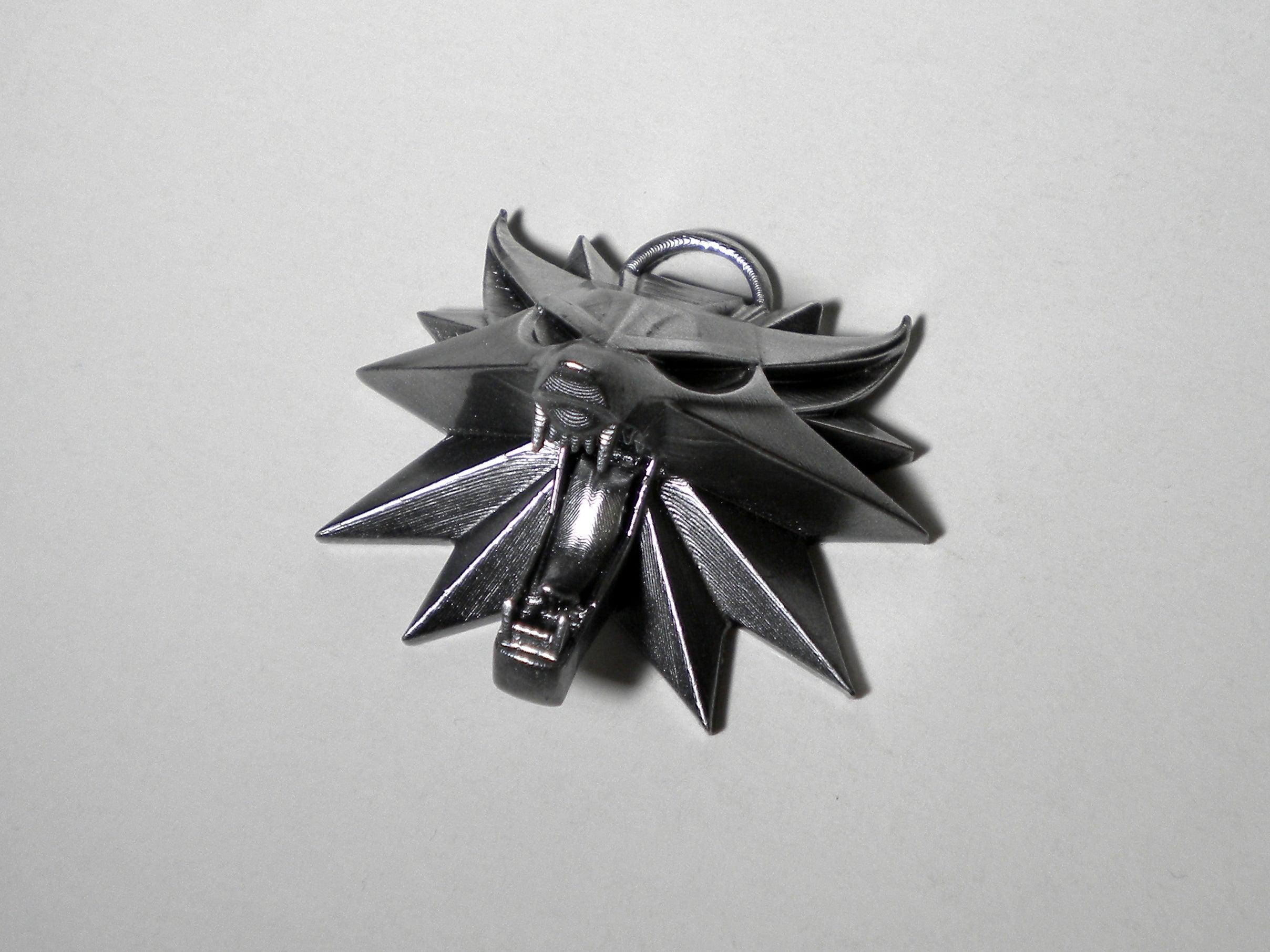 Witcher III  Anahtarlıklı Kolyelik Ucu Madalyon Hediyelik Eşya