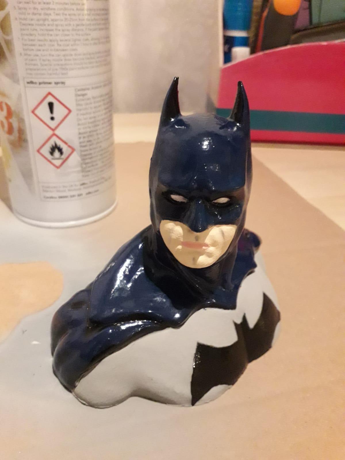Batman Büstü Heykeli Dekoratif Biblo Dekor Hediyelik Süs