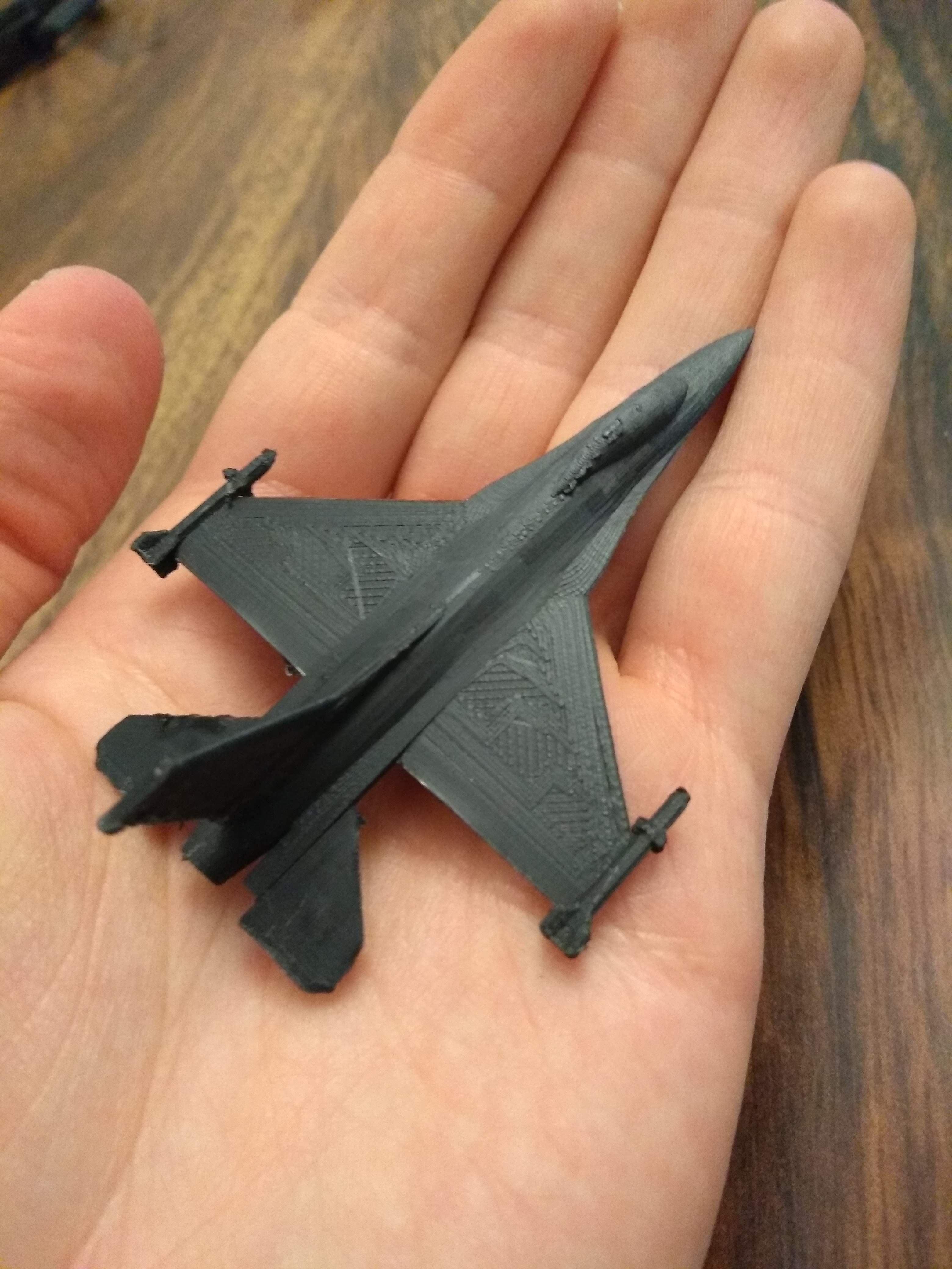 Mikro zırh için F-16 Falcon Uçak Biblo Dekor Dekoratif Hediyelik