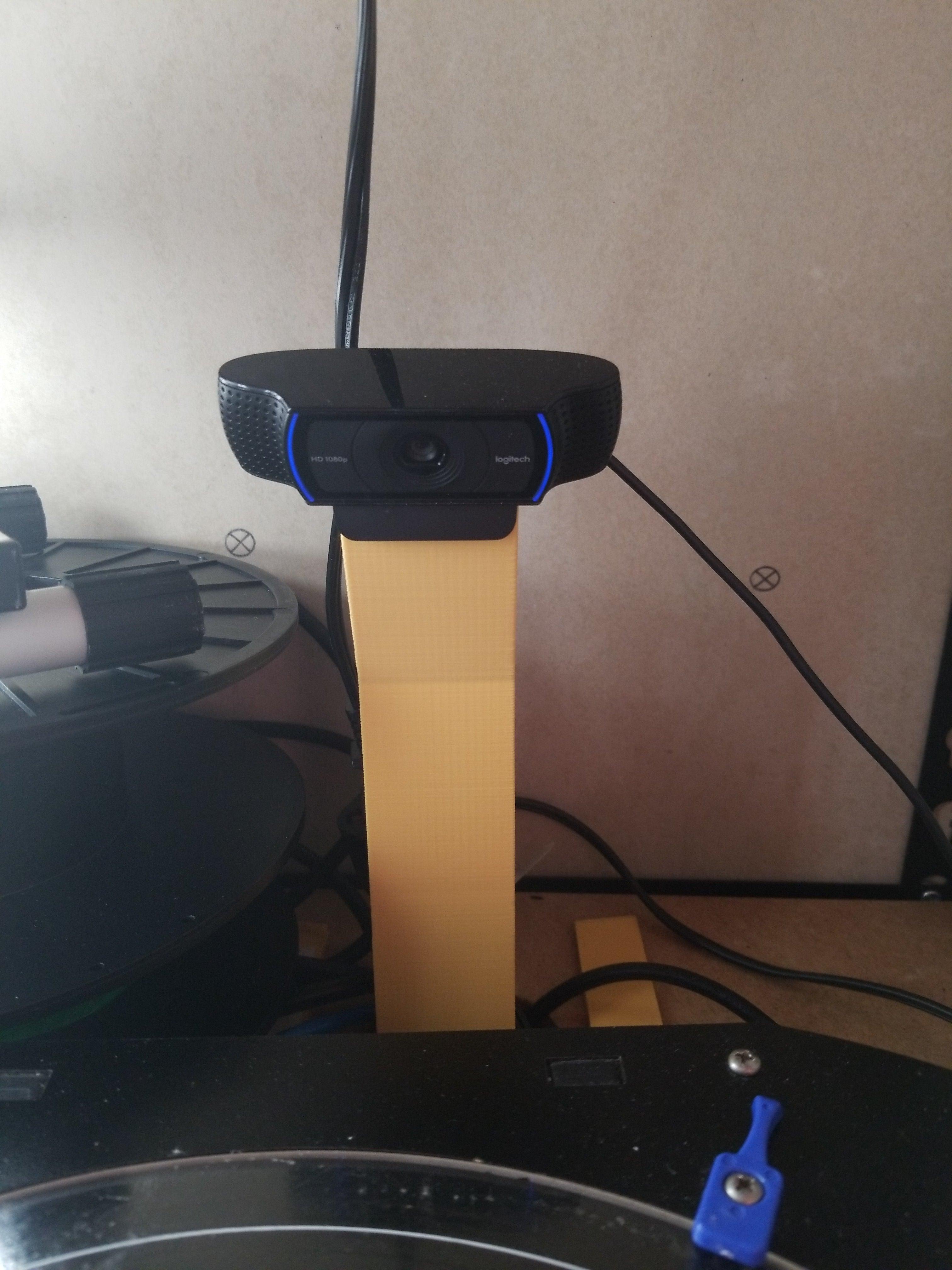 Logitech c920 Kamera Standı Webcam Tutucu Aparatı Masaüstü