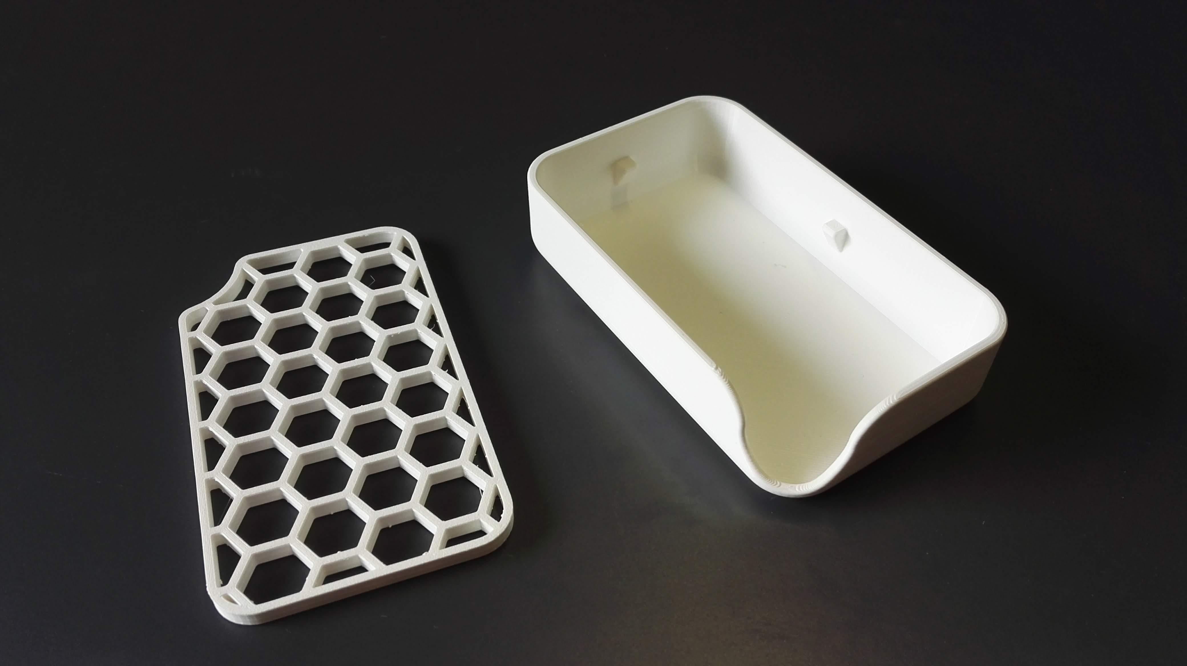 Sabun Tutucu Katı Sabunluk Organik Plastikten Banyo Aksesuarı