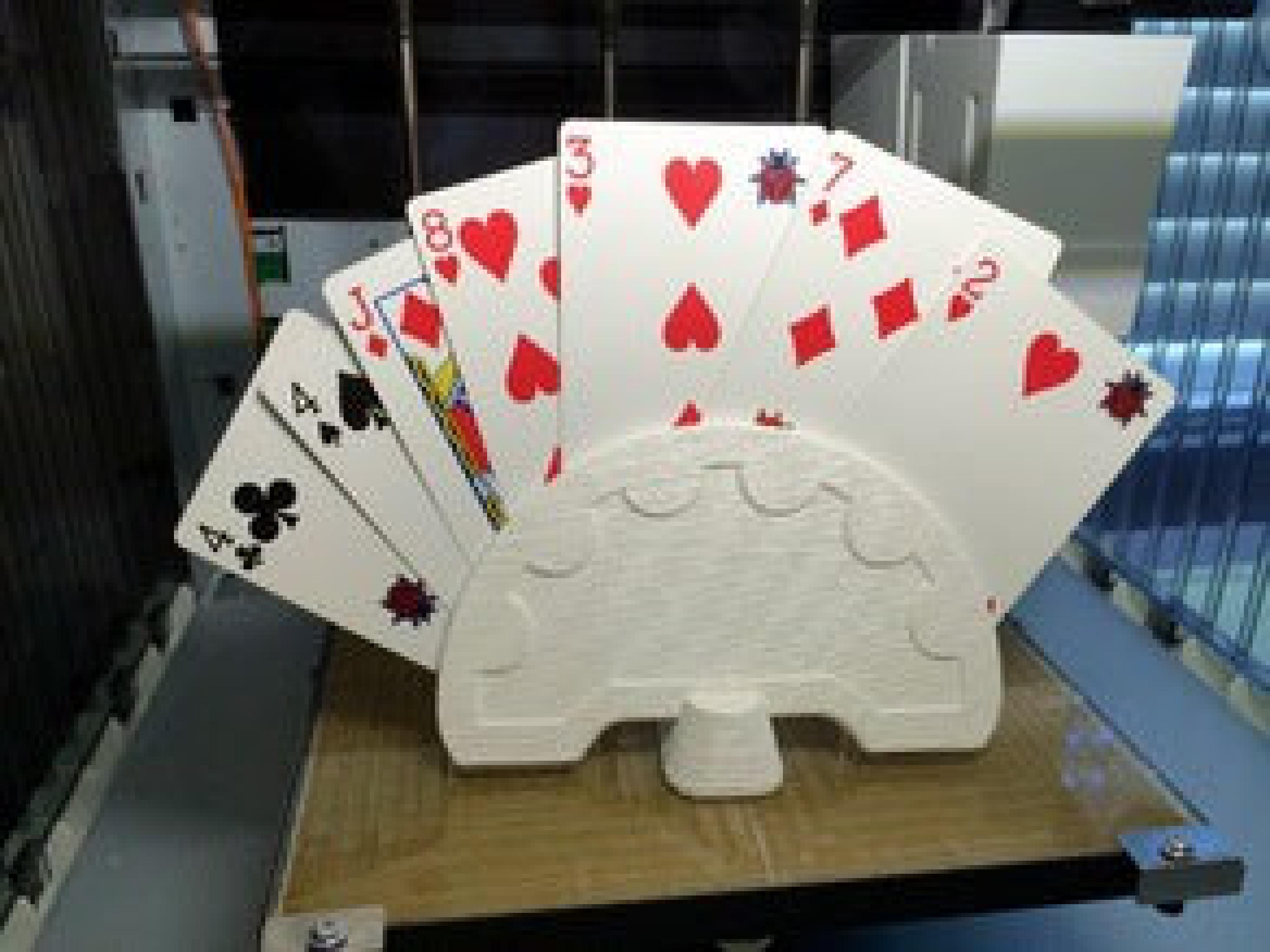 İskambil Uno Kart Tutucu