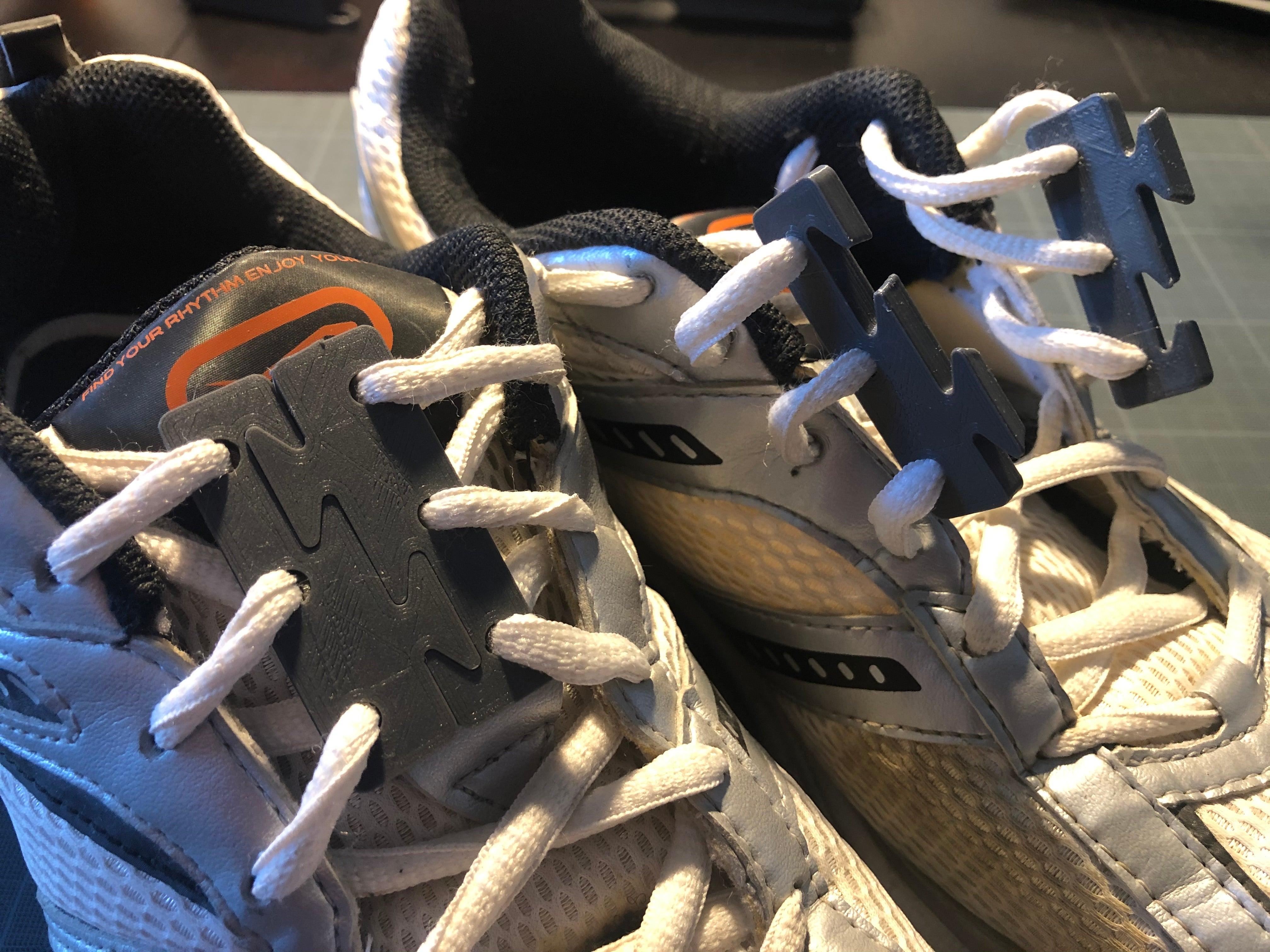 Hızlı ayakkabı bağları Aparat Aparatı Organizer bağı