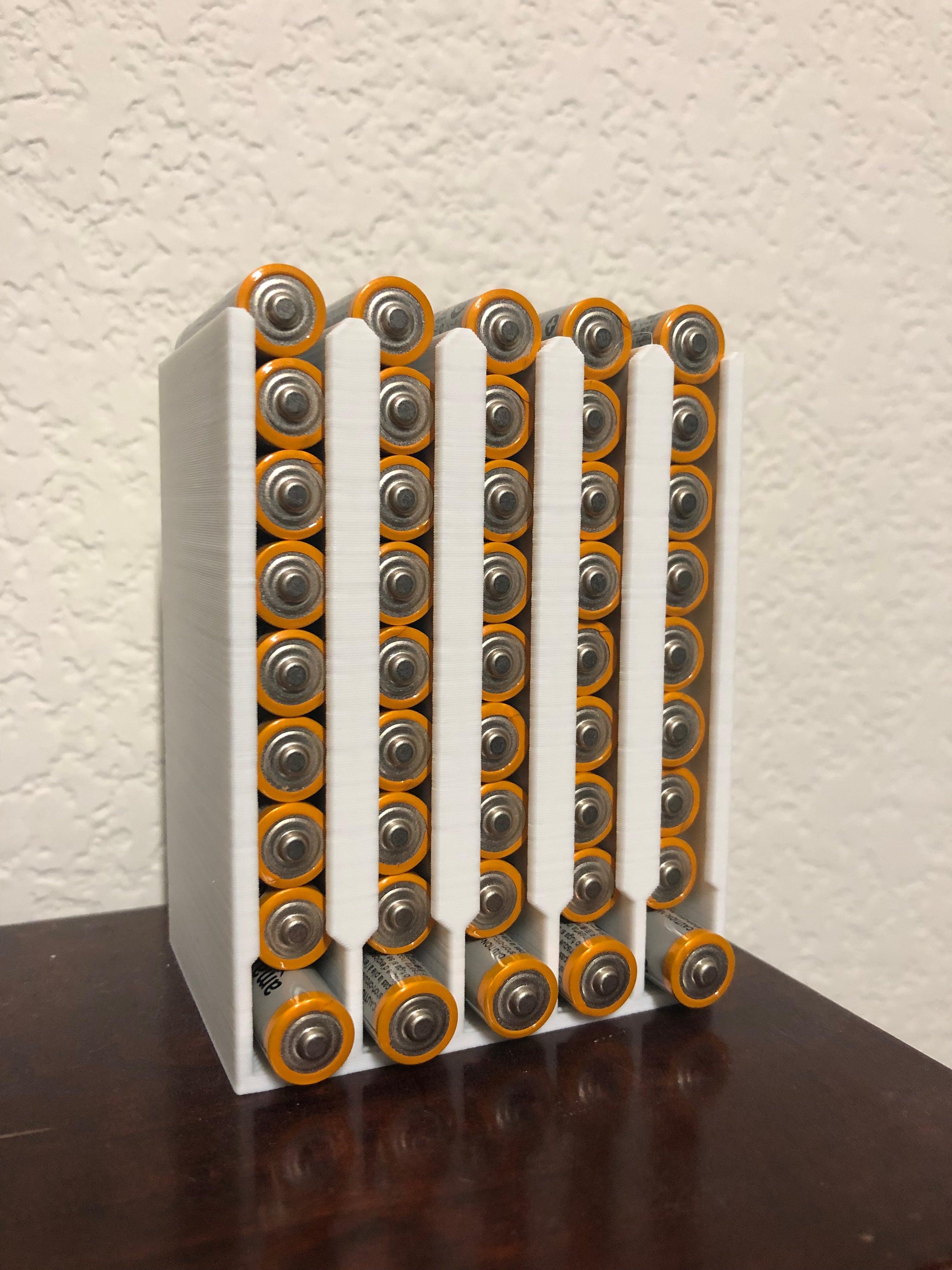 Özelleştirilebilir pil dağıtıcı kutusu düzen