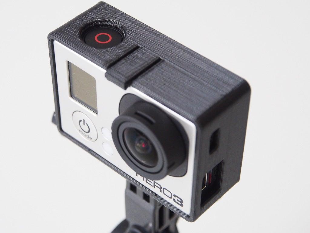 GoPro Hero3 montaj çerçevesi  Tutucu Aksesuar Aparatı Asma Askısı