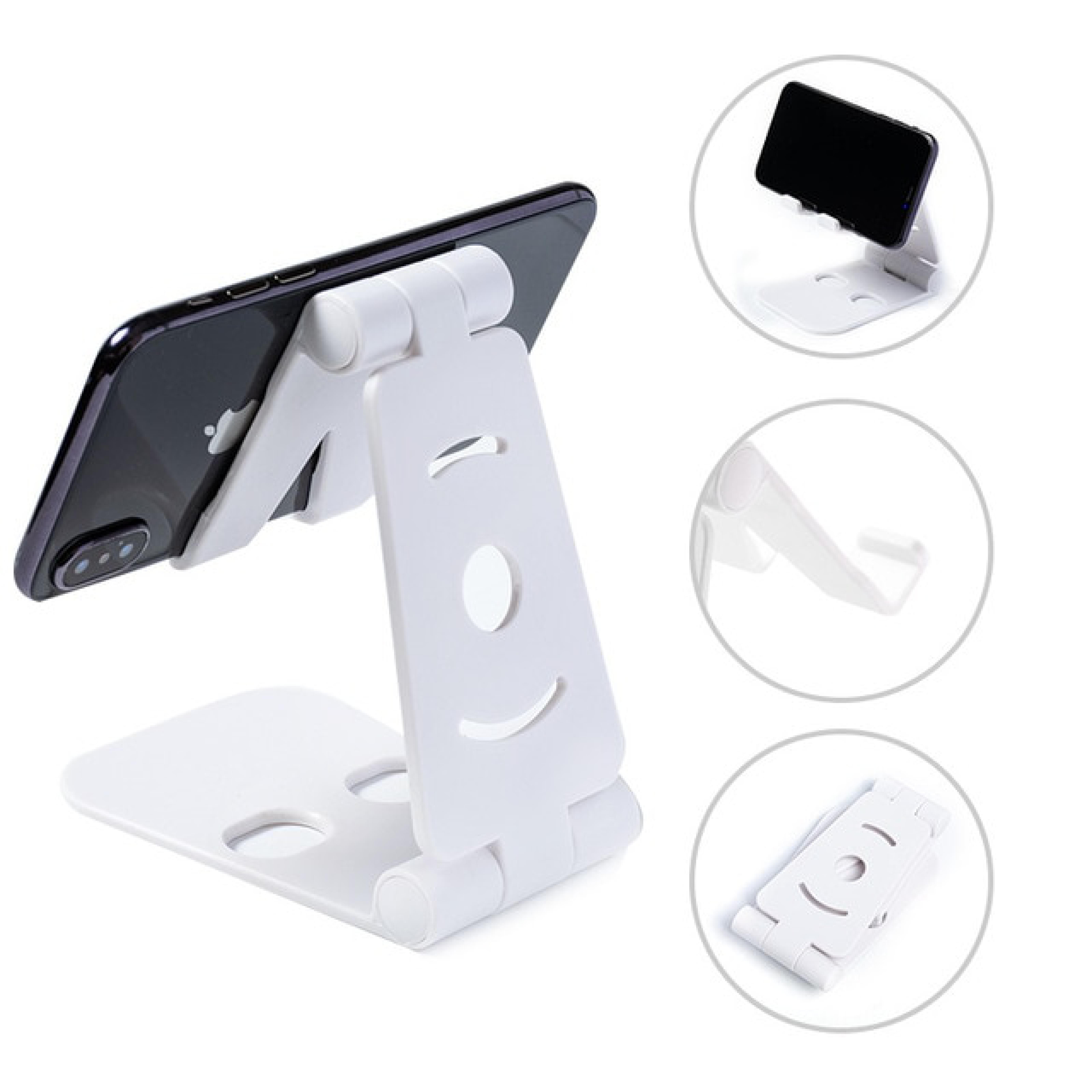 Masaüstü Telefon Tutucu Katlanabilir Eğilebilir Açılı Ayarlayıcı