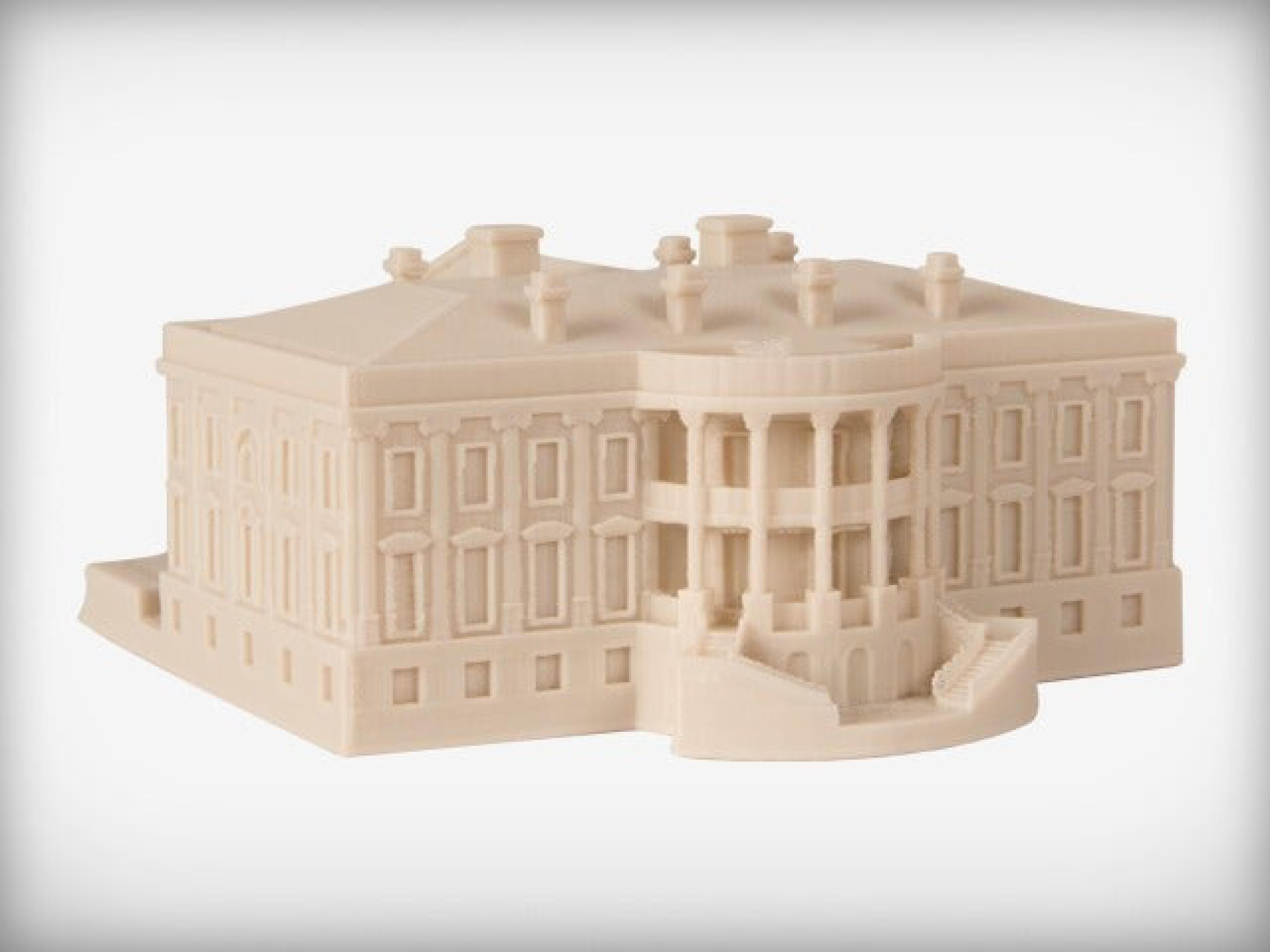 Beyaz Saray Dekoratif Biblo Dekor