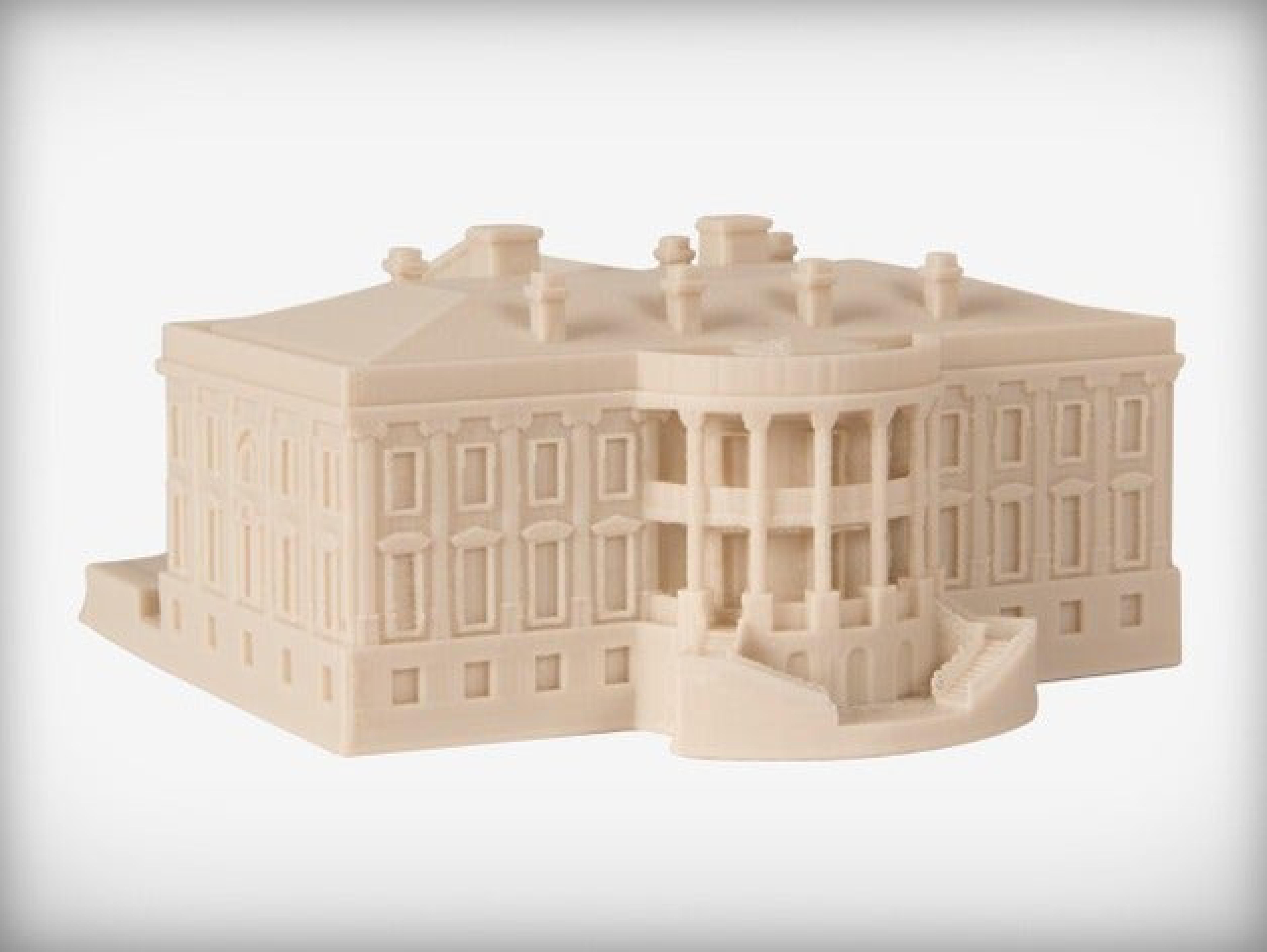 Beyaz Saray Washington Dekoratif Biblo Dekor Hediyelik Süs
