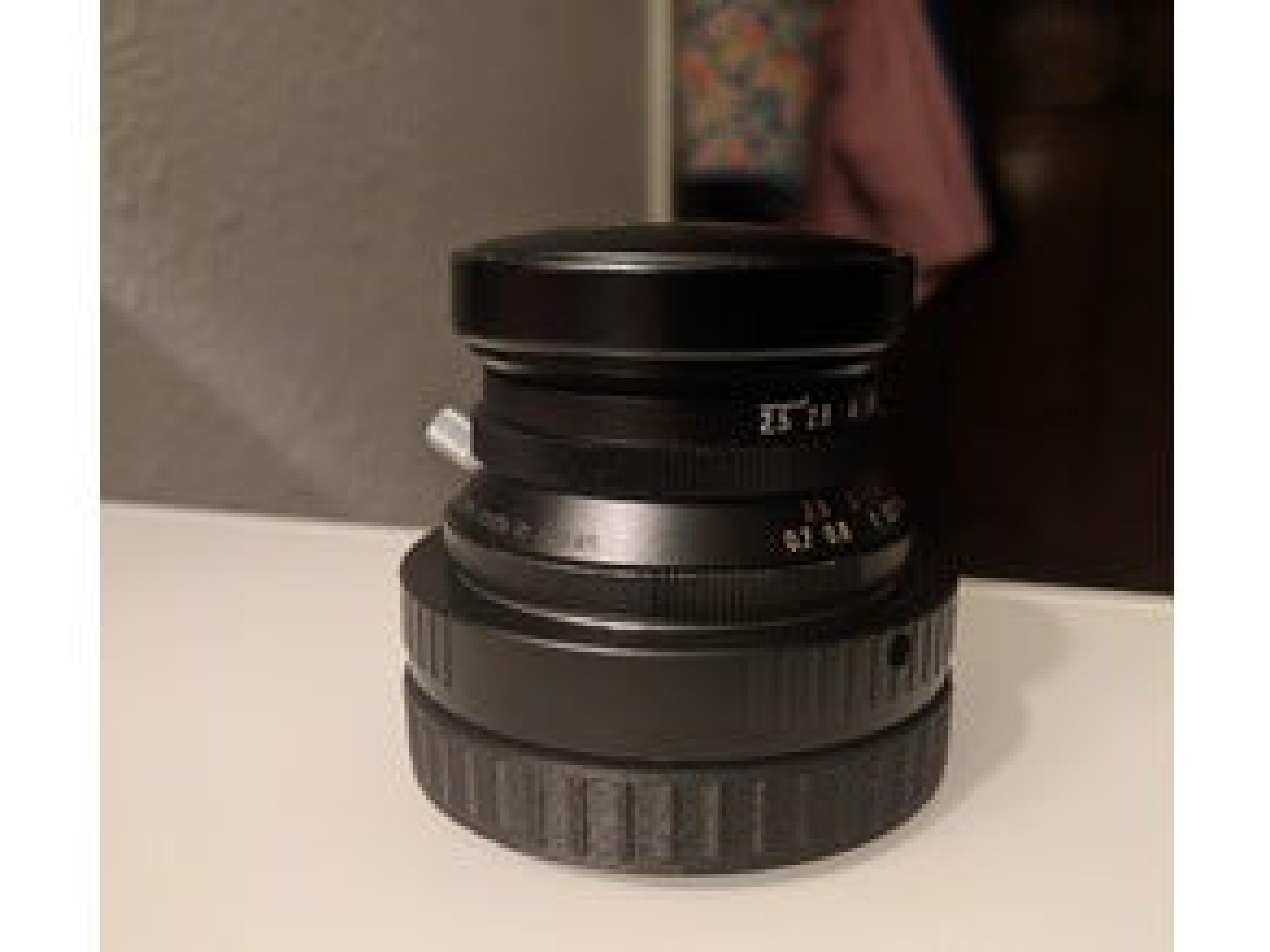Canon EF-M Yuvalı arka lens kapağı  Organik Plastik Aparat