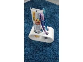 Diş fırçası ve Diş macunu tutucu Stand Stant  Banyo Düzenleyici