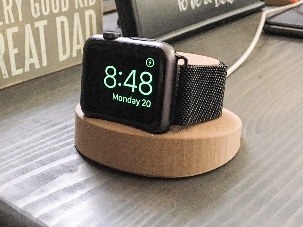 Apple Watch Şarj Standı Aparatı Kablosuz Şarj Kısmı Dahil Değil
