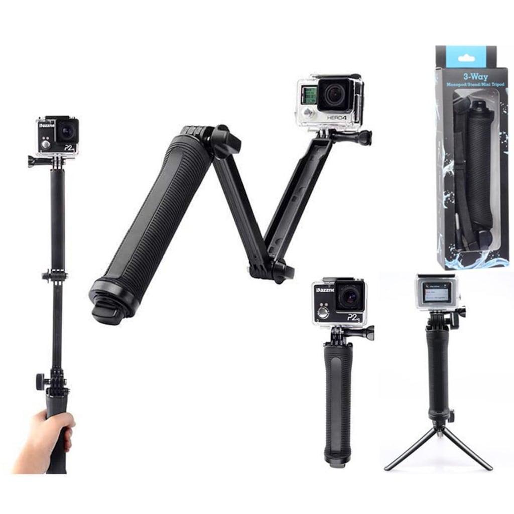 3 Fonksiyonlu Monopod Tripod Stand Mini Selfie Kamera