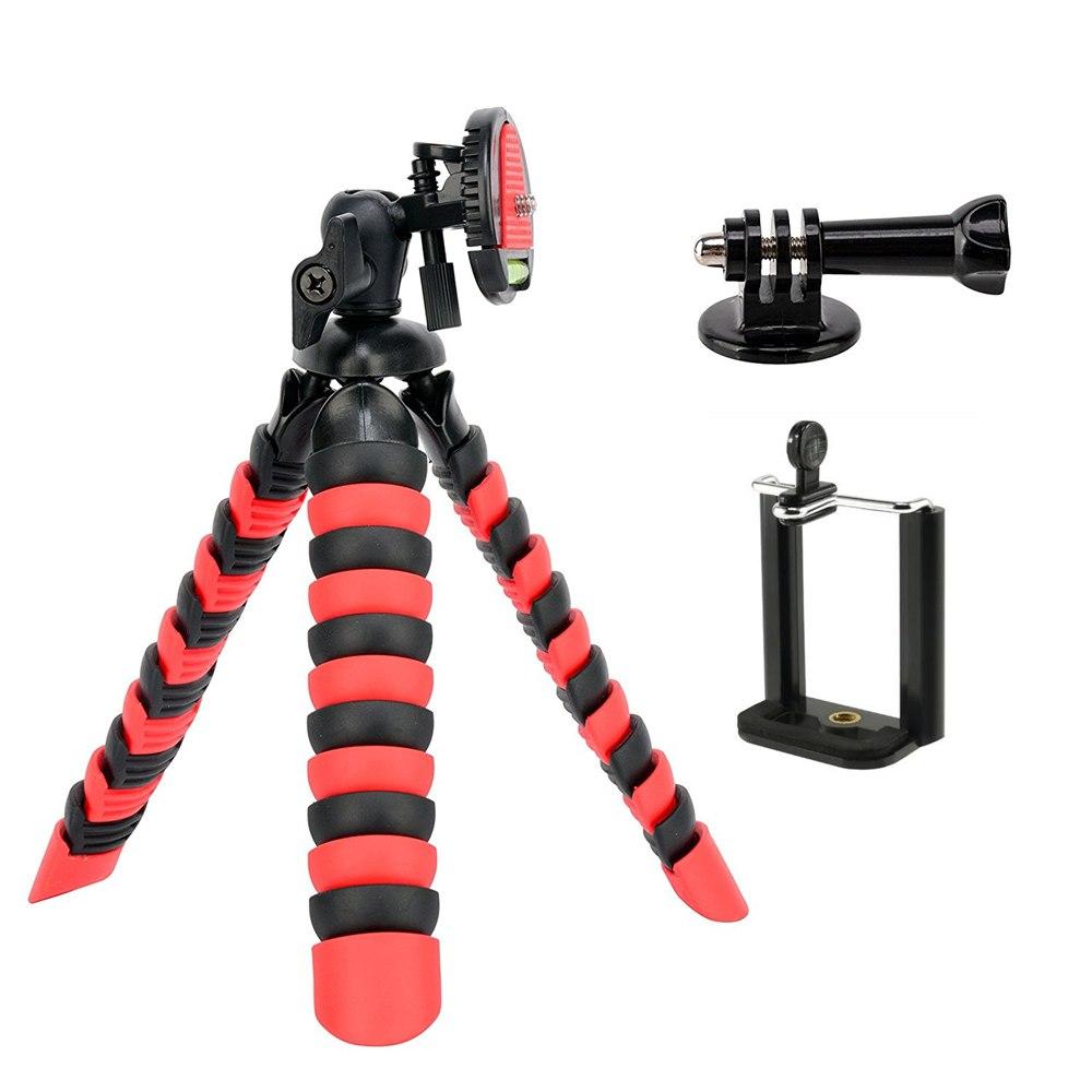 Ahtapot Tripot Kamera Cep Telefonu Tripodu Monopod Stand Selfie