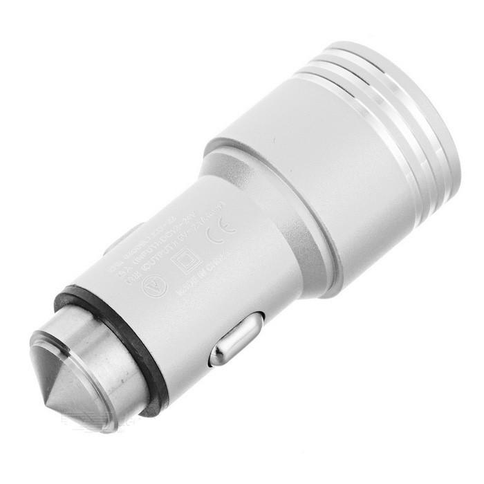 Araç İçi Şarj Cihazı Çift USB Giriş 2.1A Süper Hız Çakmaklık