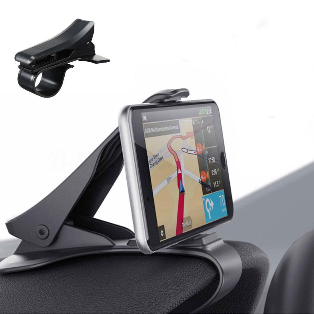 Araç Telefon Tutucu Gösterge-Konsol Üstü Siyah Kıskaçlı