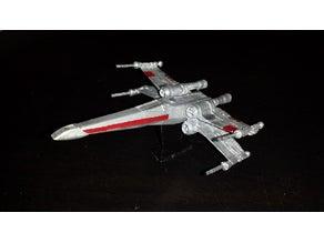 Star Wars X-Wing Uçak Dekoratif Biblo Dekor Hediyelik Süs