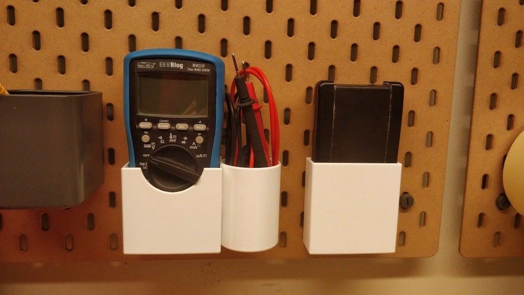 Ikea Skadis Brymen multimetre konteyner Asma Kutu Aparatı