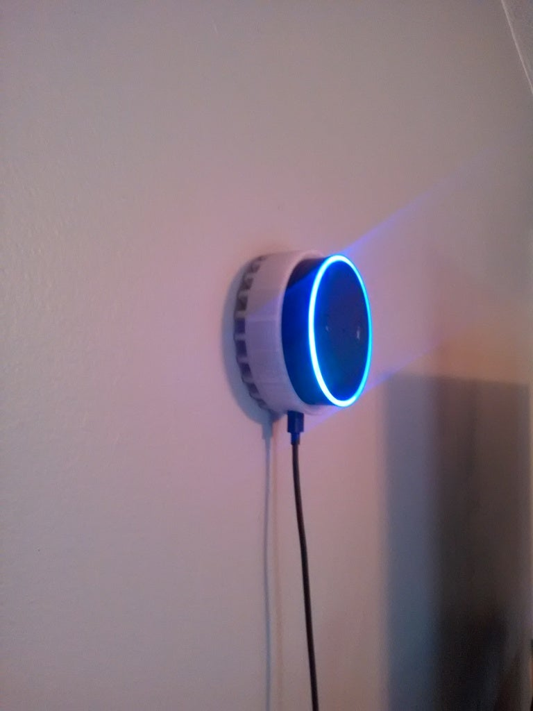 Amazon Echo Dot Tutucu Duvara Monte Etme Apratı
