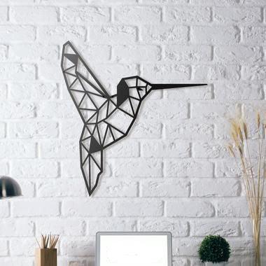 Colibri Uğultulu Kuş Heykel Heykeli Tablo  Biblo Dekoratif Dekor