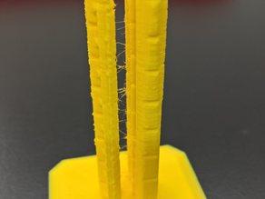 PLA / ABS Sıcaklık Testi Aparatı Test İçin Dikey Malzeme