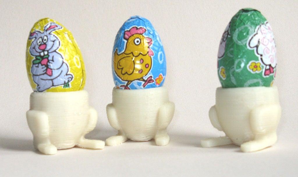 BunnyCup  Tavşan Ayaklı Yumurta Tutacağı Çocuk Yemek Sevdirme